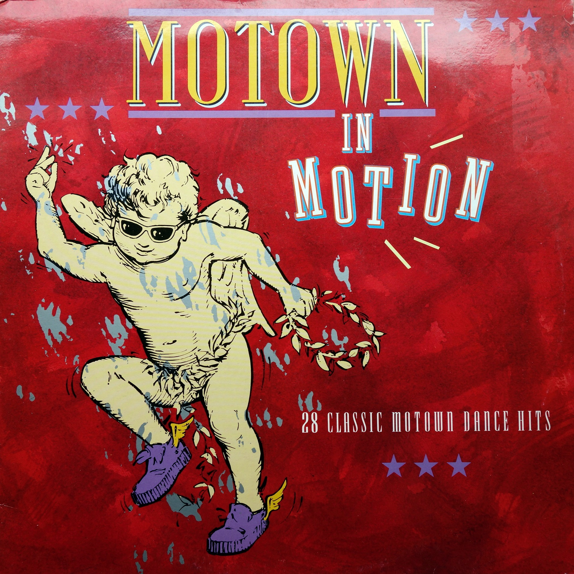 2xLP Various ‎– Motown In Motion