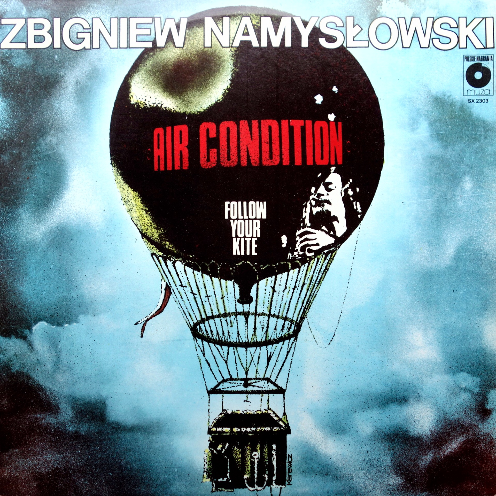 LP Zbigniew Namysłowski Air Condition ‎– Follow Your Kite