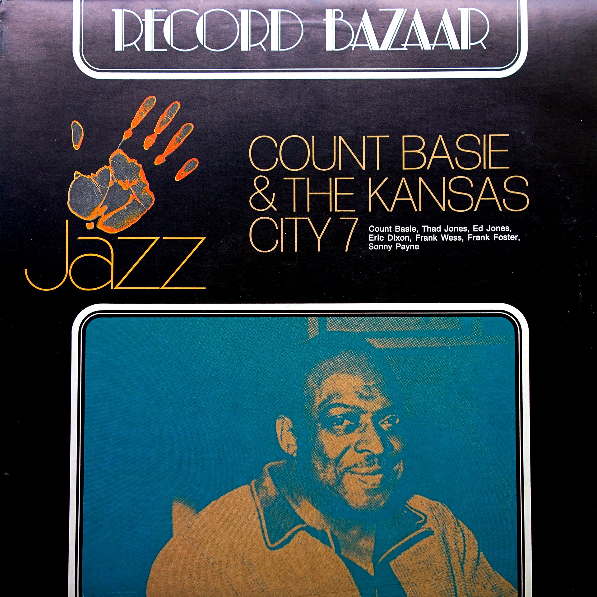 LP Count Basie ‎– Count Basie And Kansas City 7