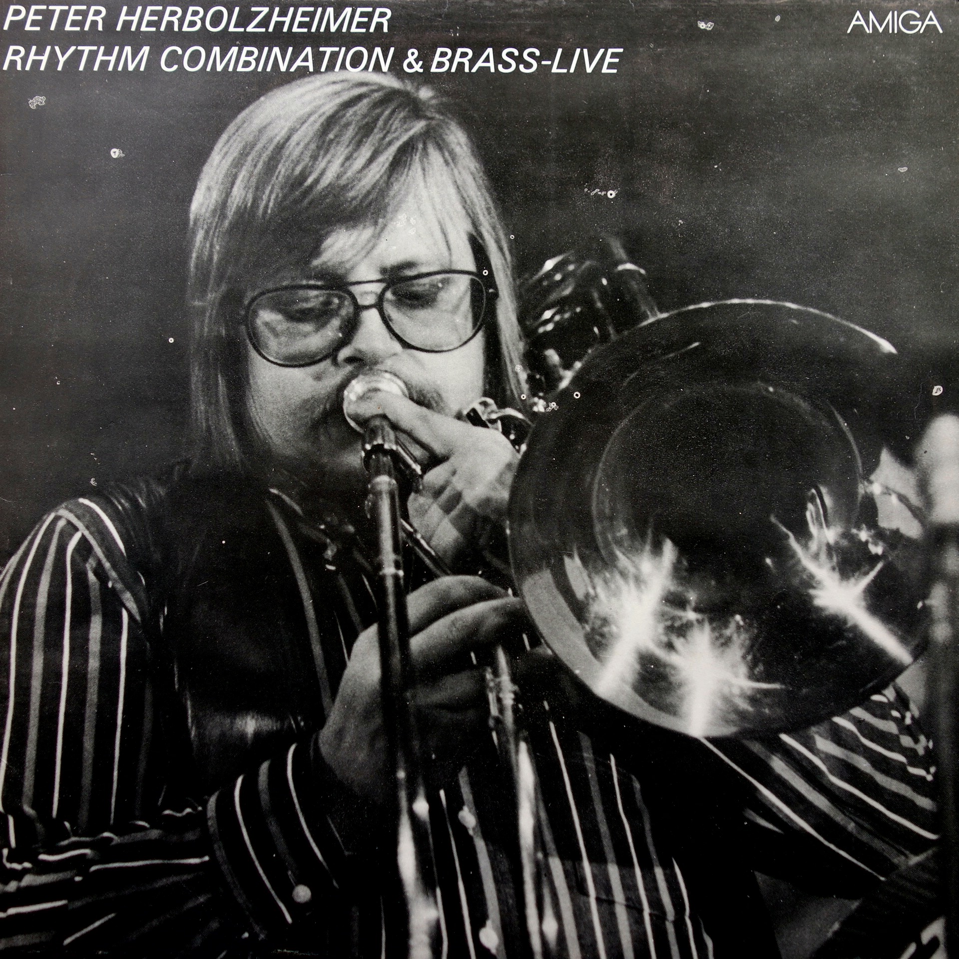LP Peter Herbolzheimer Rhythm Combination & Brass ‎– Live