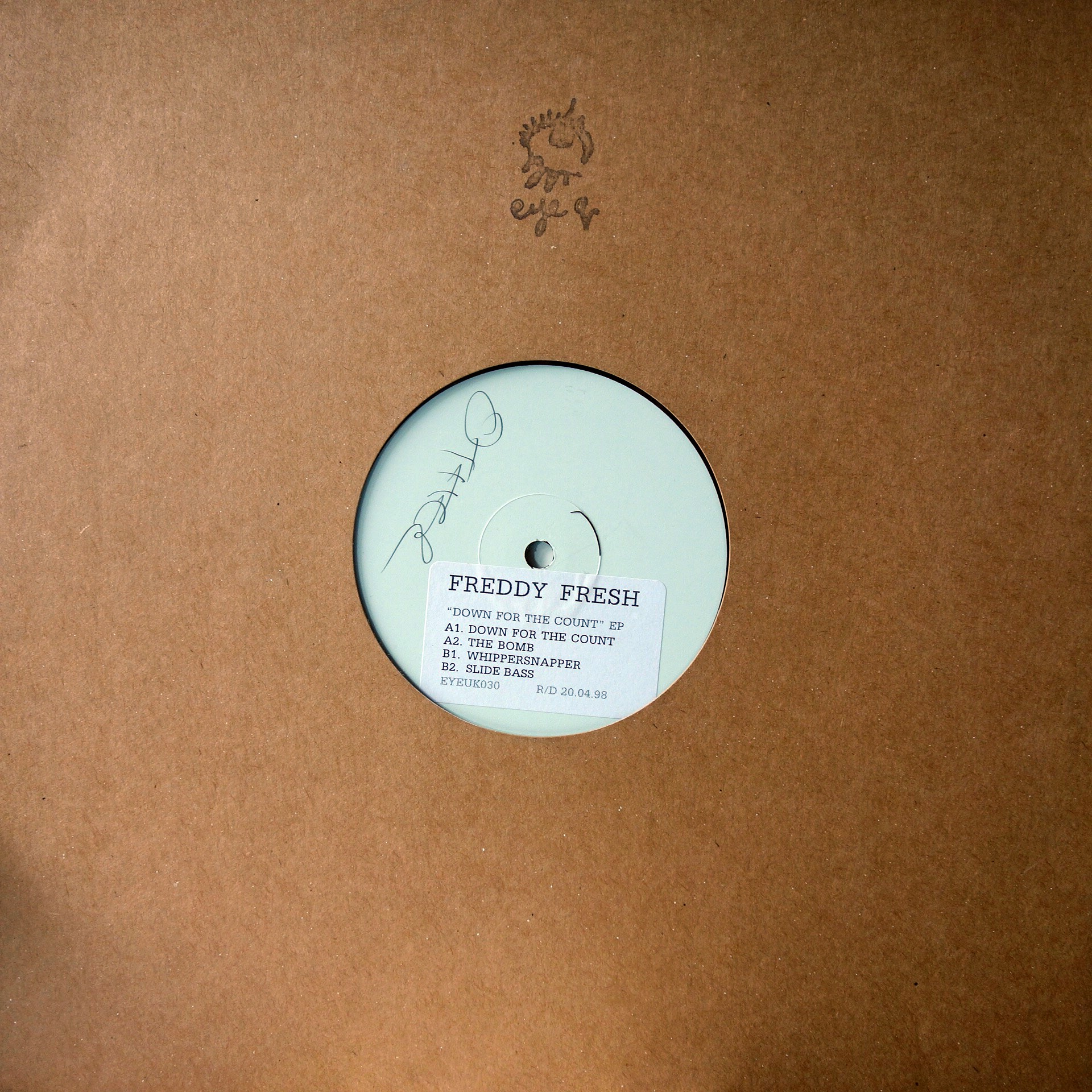 "12"" Freddy Fresh ‎– Down For The Count EP"