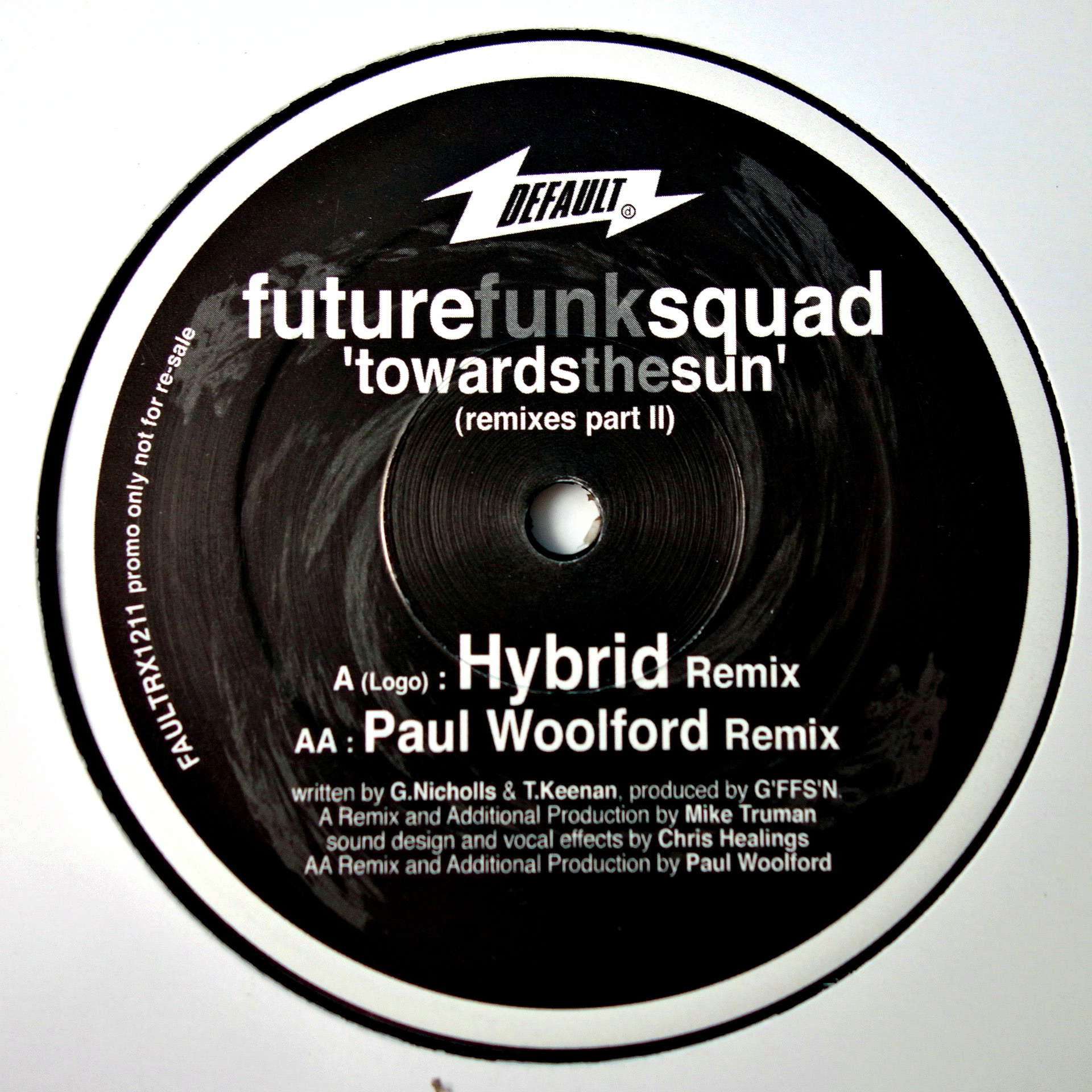 "12"" Future Funk Squad ‎– Towards The Sun (Remixes Part 2)"