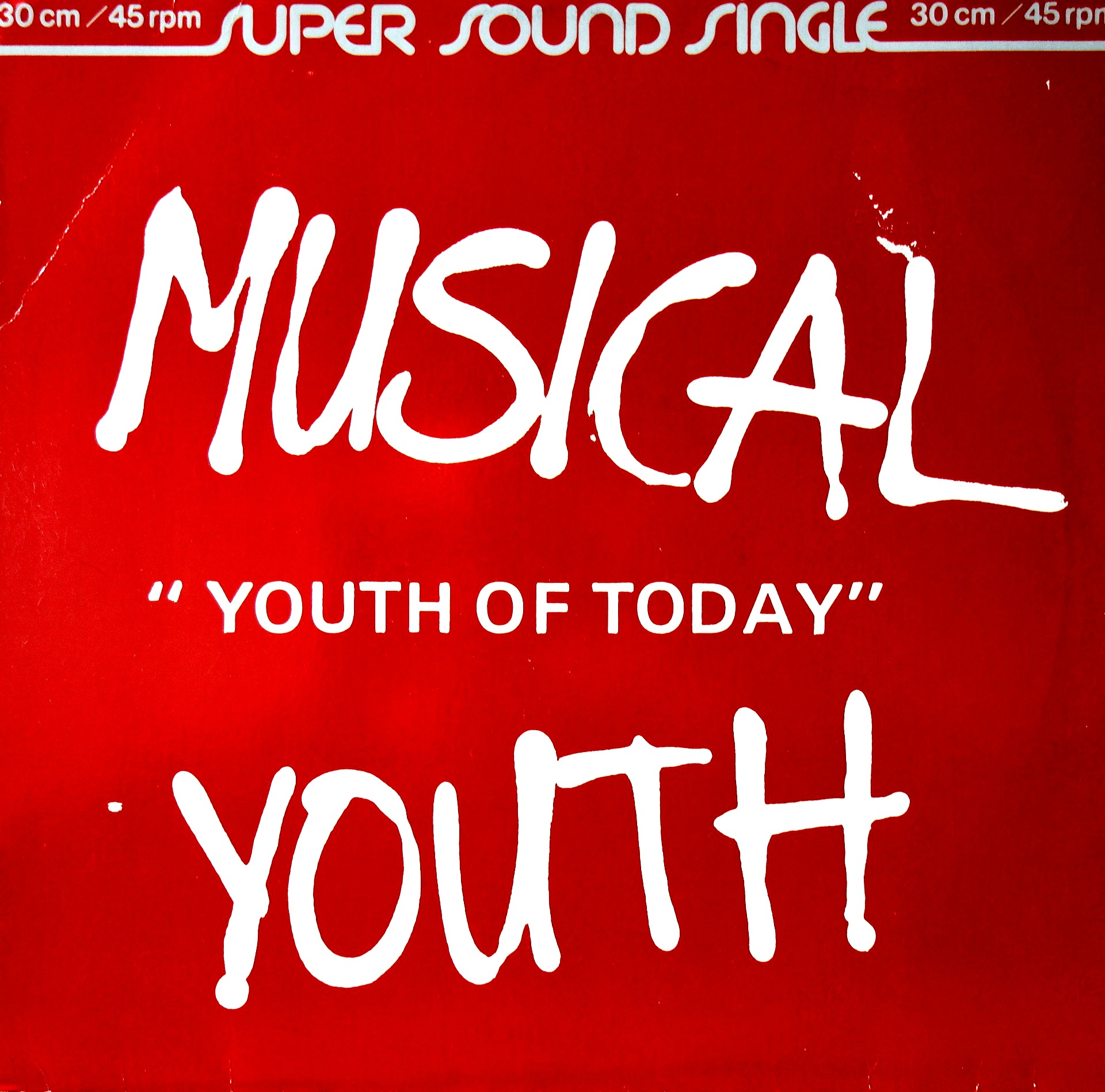 "12"" Musical Youth ‎– Youth Of Today"