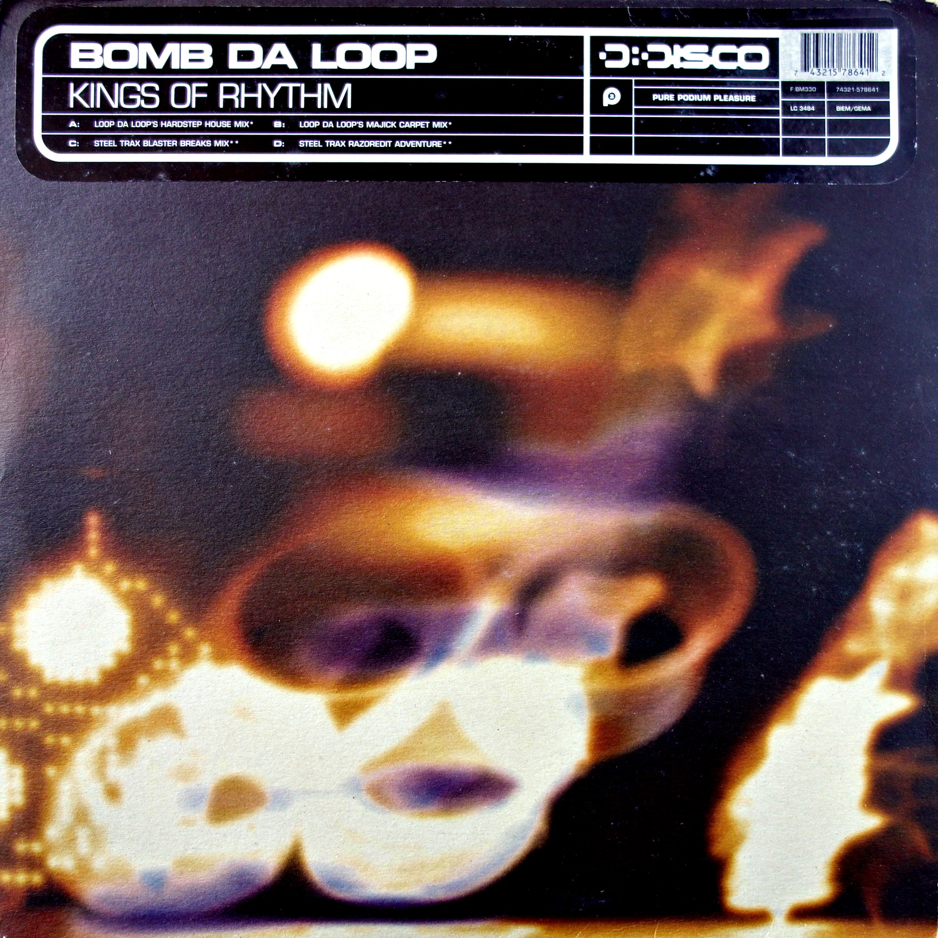 "2x12"" Kings Of Rhythm ‎– Bomb Da Loop"