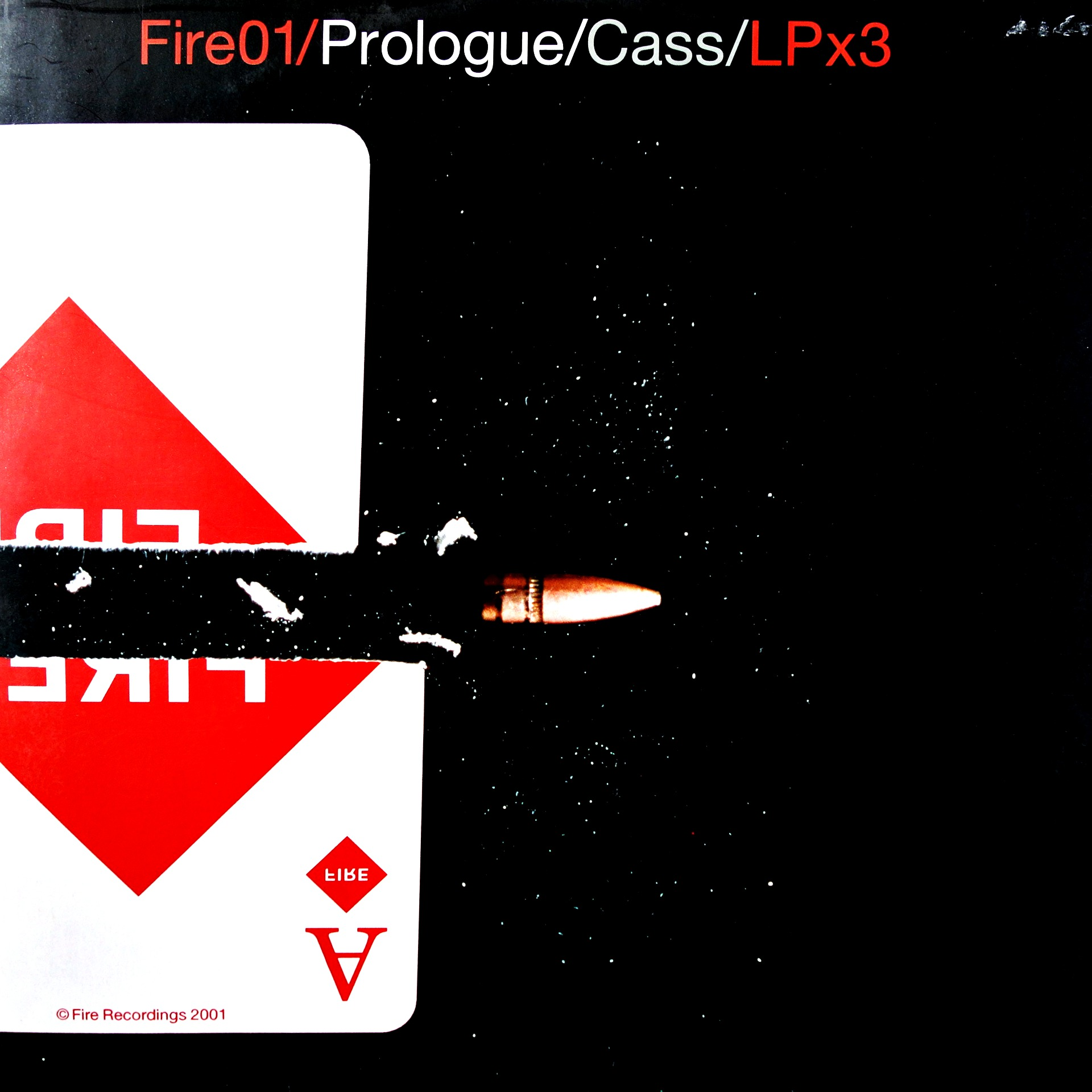 "2x12"" Various ‎– Fire01/Prologue/Cass/LPx3"