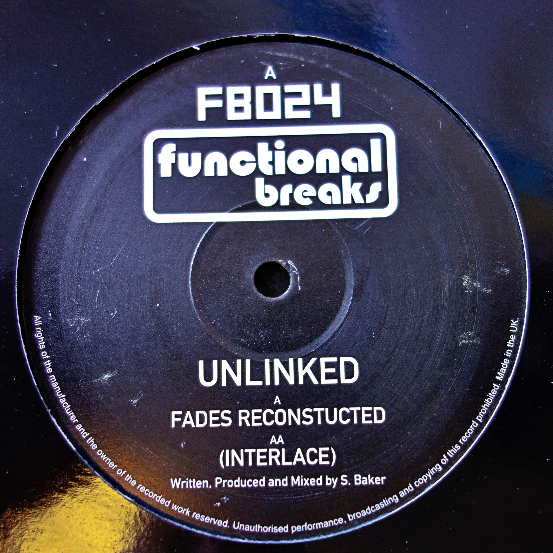 "12"" Unlinked ‎– Fades Reconstructed"