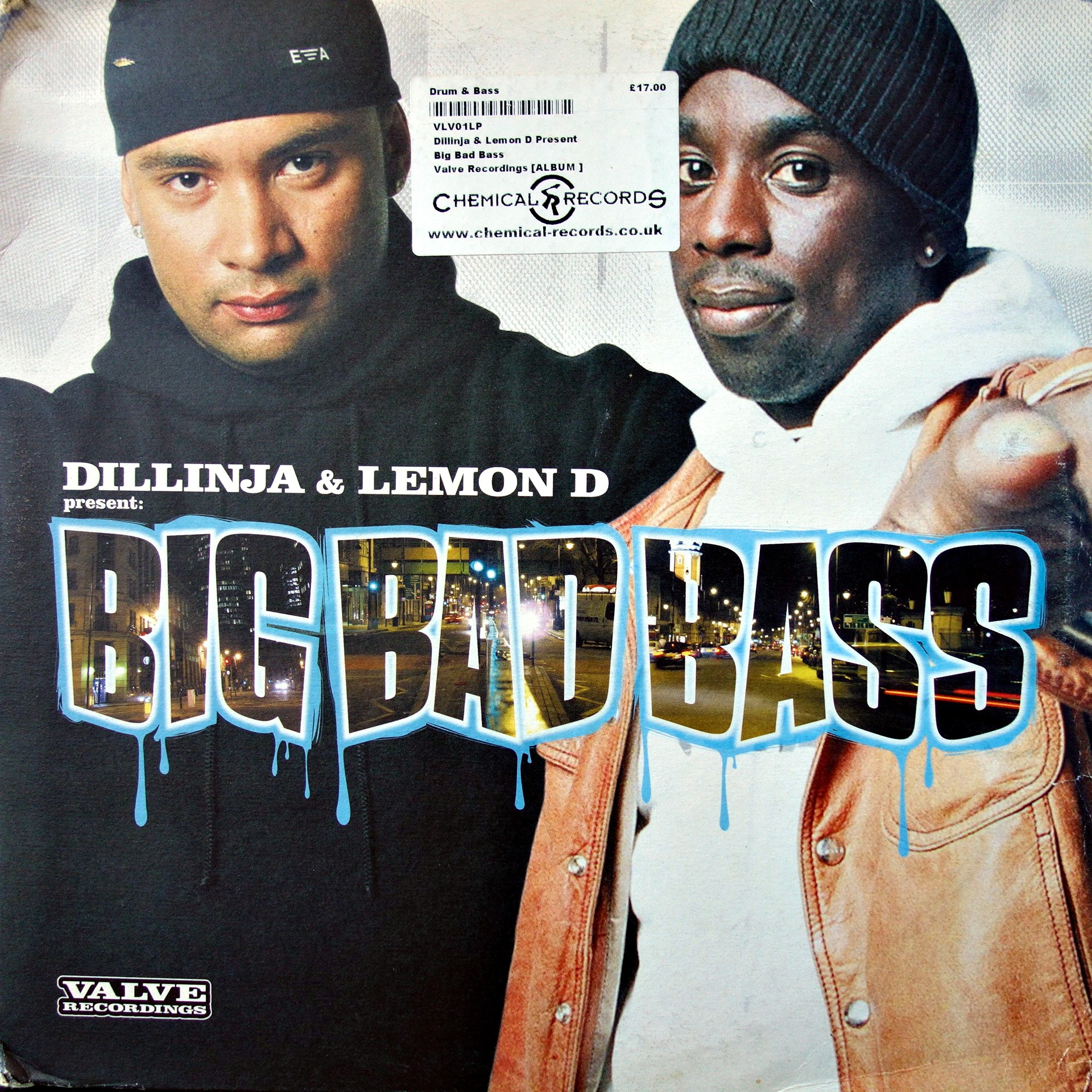 "5x12"" Dillinja & Lemon D ‎– Big Bad Bass"