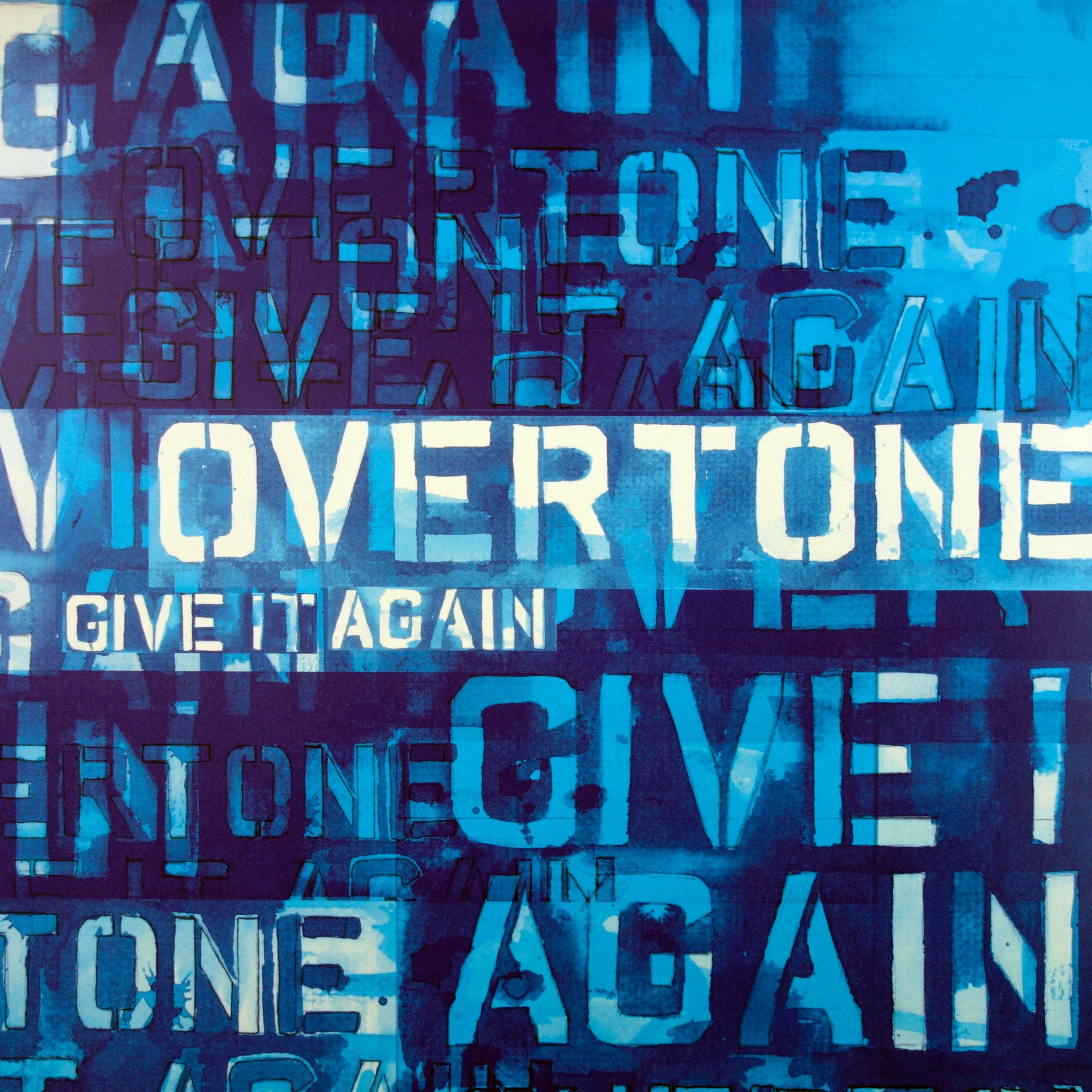 "12"" Overtone ‎– Give It Again"
