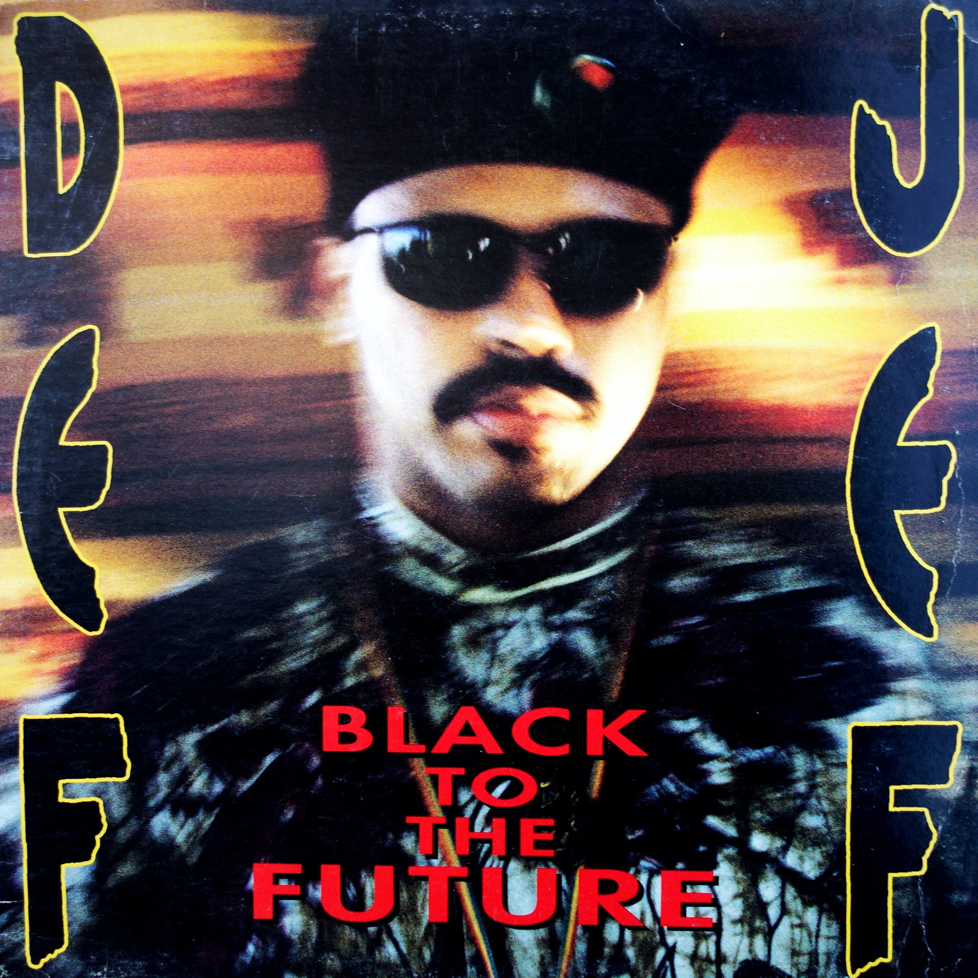 "12"" Def Jef ‎– Black To The Future"
