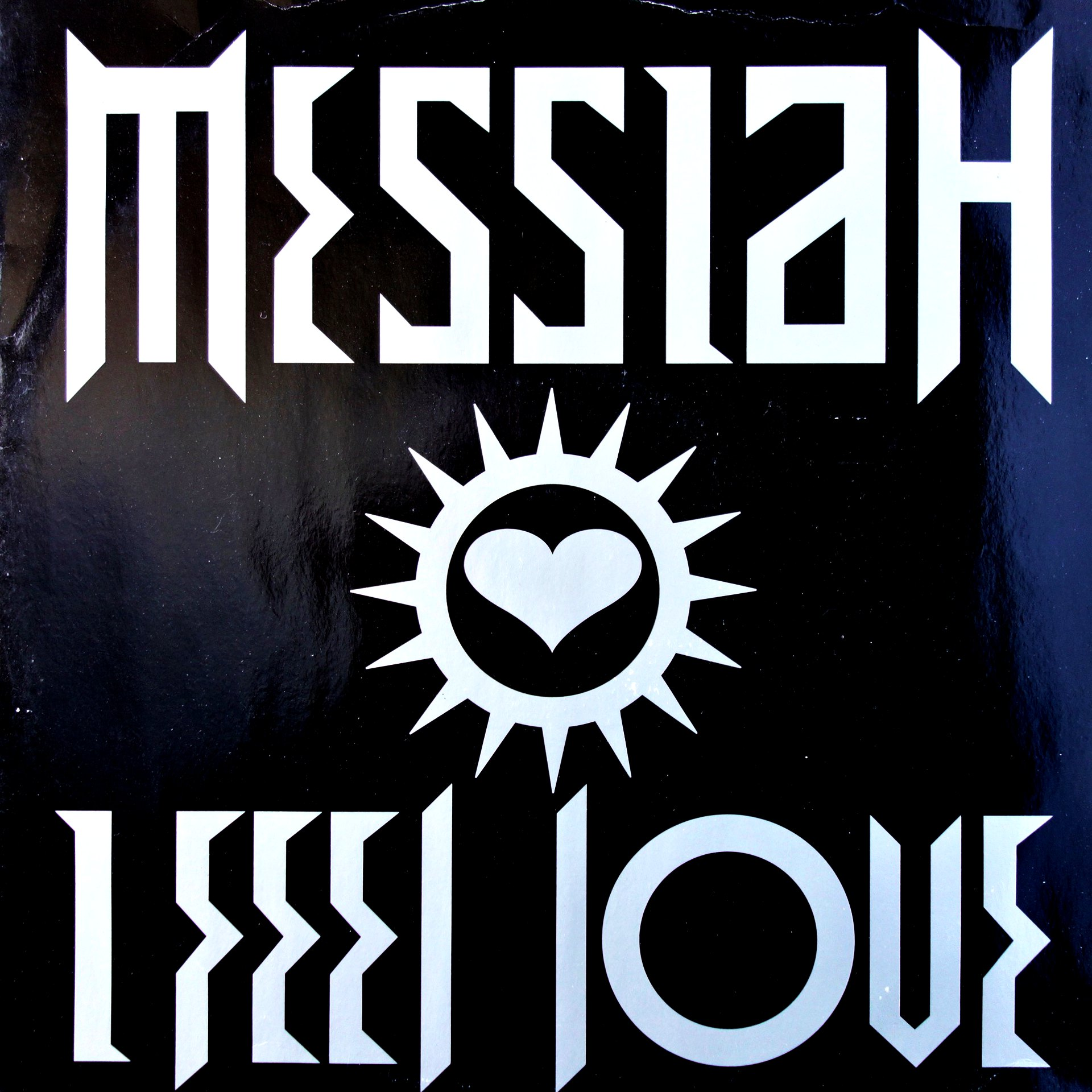 "12"" Messiah ‎– I Feel Love"