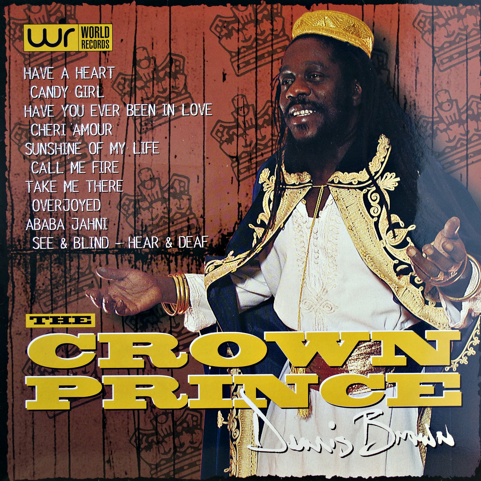 LP Dennis Brown ‎– The Crown Prince