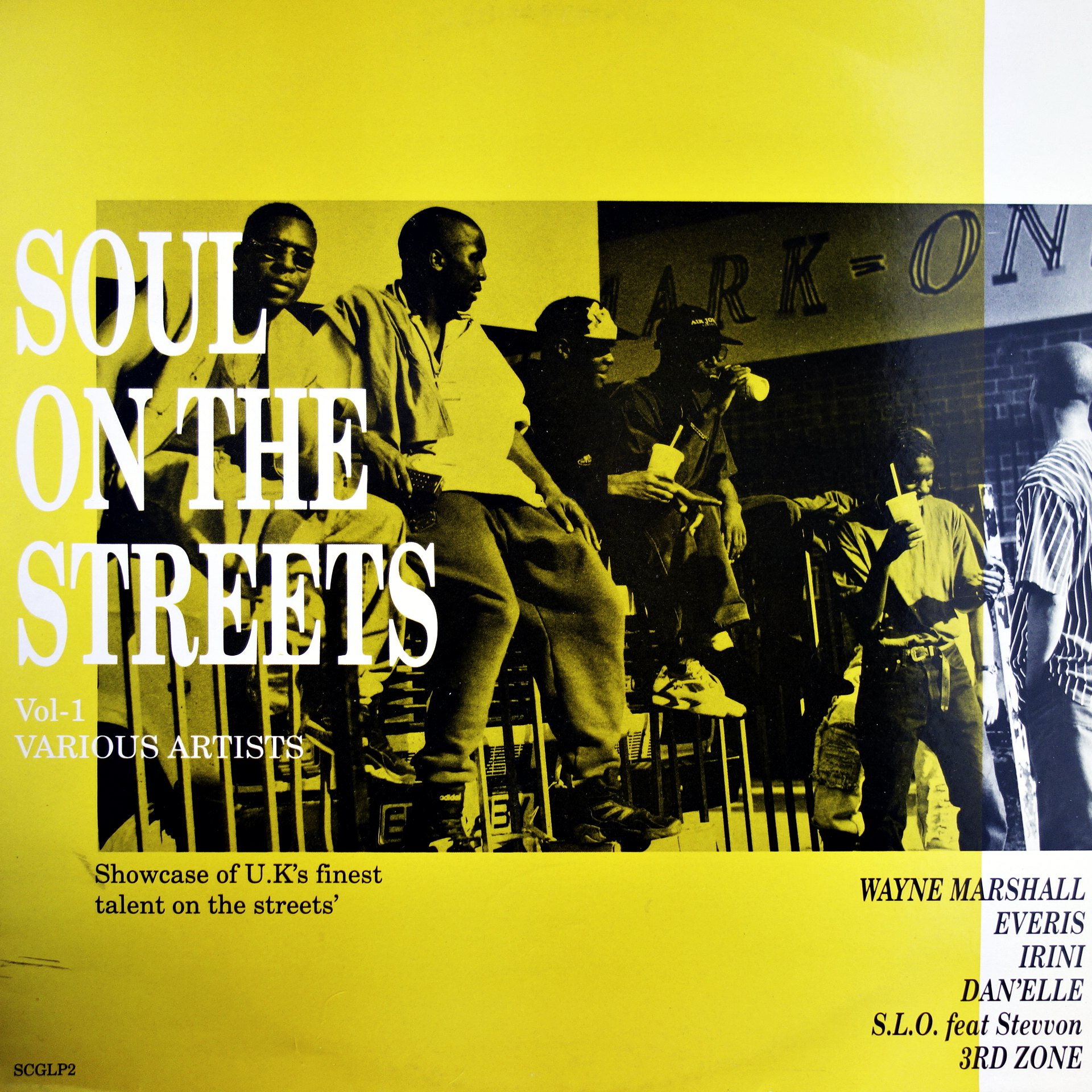 LP Various ‎– Soul On The Streets Vol 1