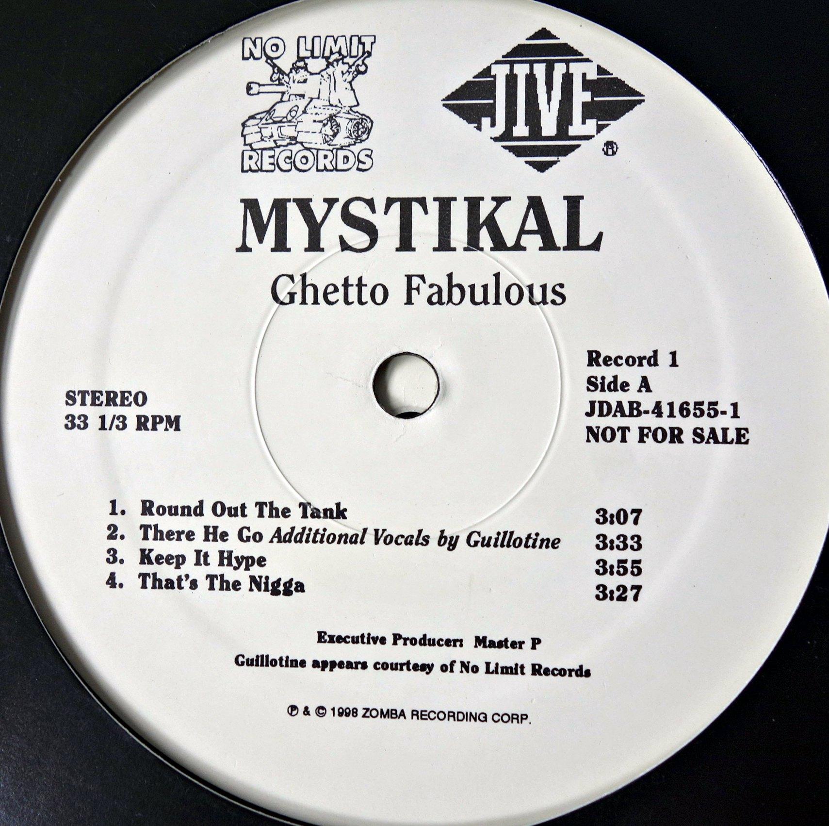 2xLP Mystikal – Ghetto Fabulous