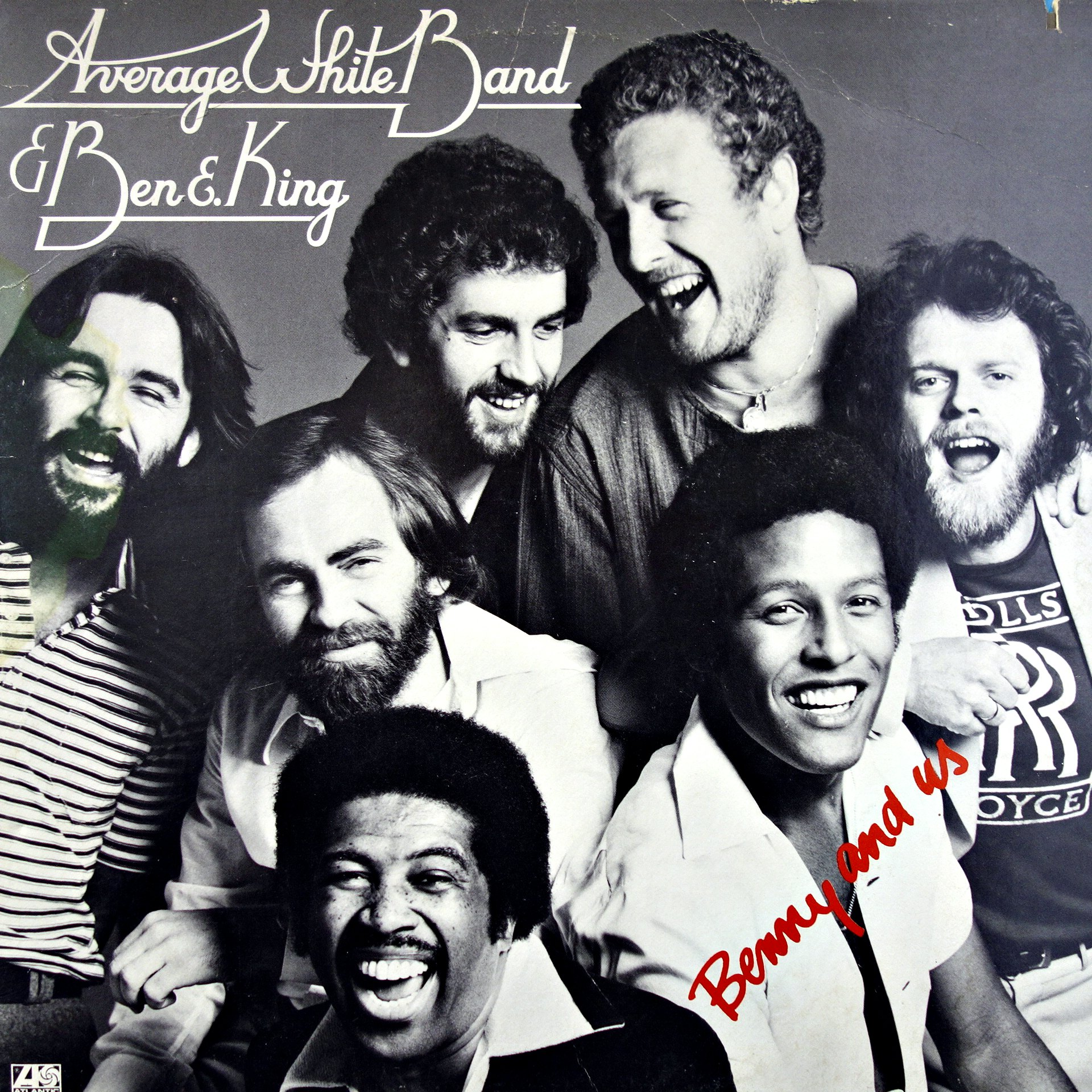 LP Average White Band & Ben E. King ‎– Benny And Us
