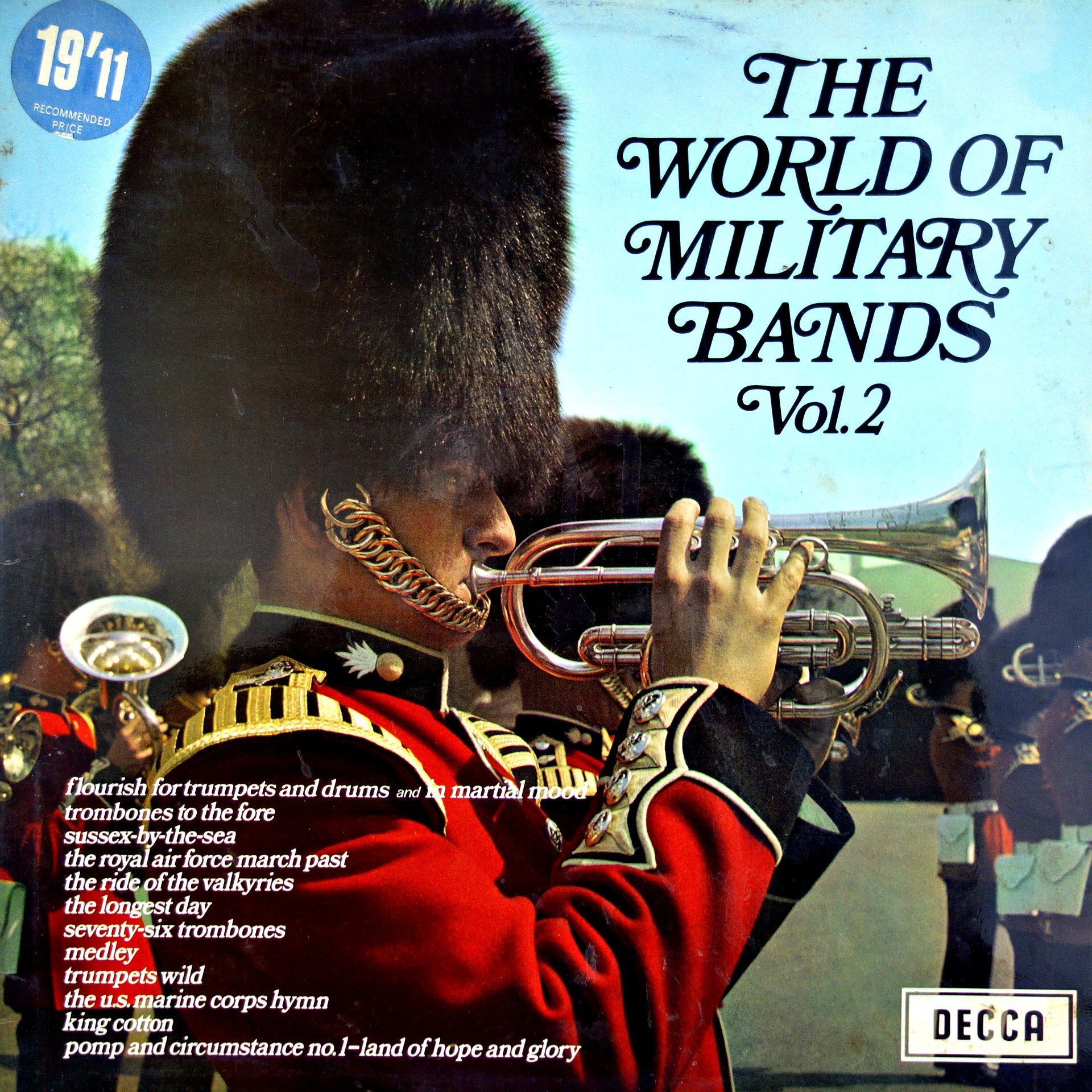 LP Various ‎– The World Of Military Bands Vol. 2