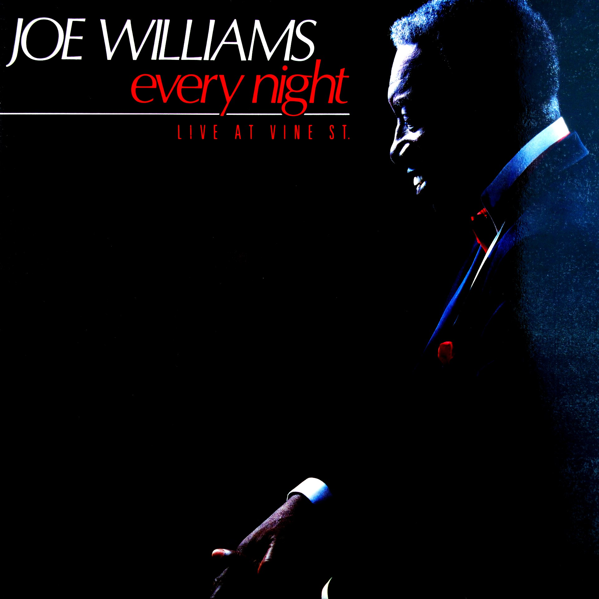 LP Joe Williams ‎– Every Night - Live At Vine St.