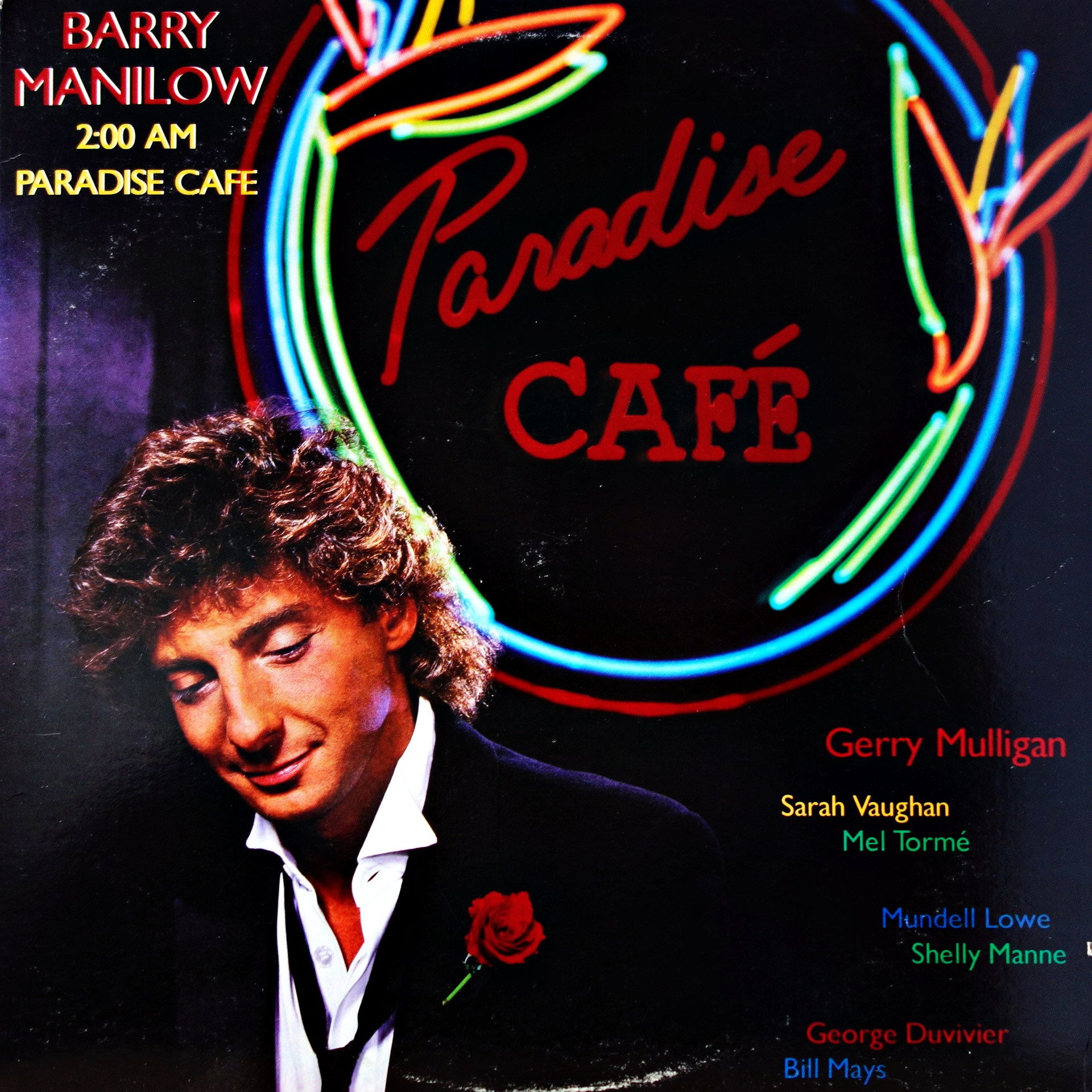 LP Barry Manilow ‎– 2:00 AM Paradise Cafe