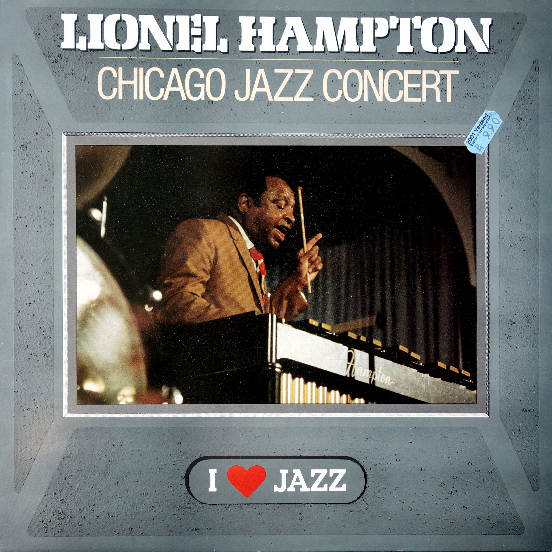LP Lionel Hampton And His Orchestra ‎– Chicago Jazz Concert