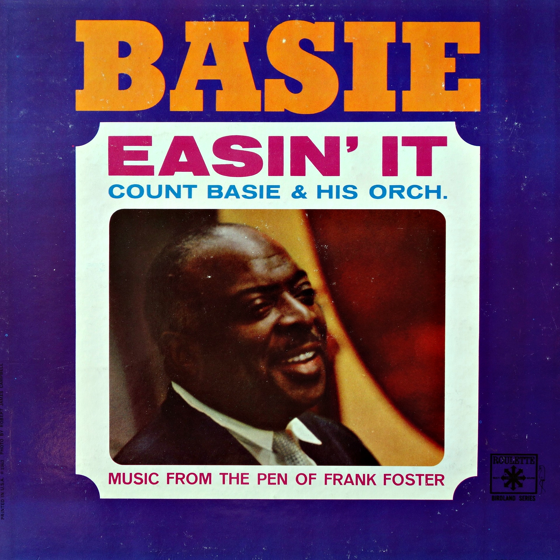 LP Count Basie & His Orch. ‎– Easin' It (Music From The Pen Of Frank Foster)