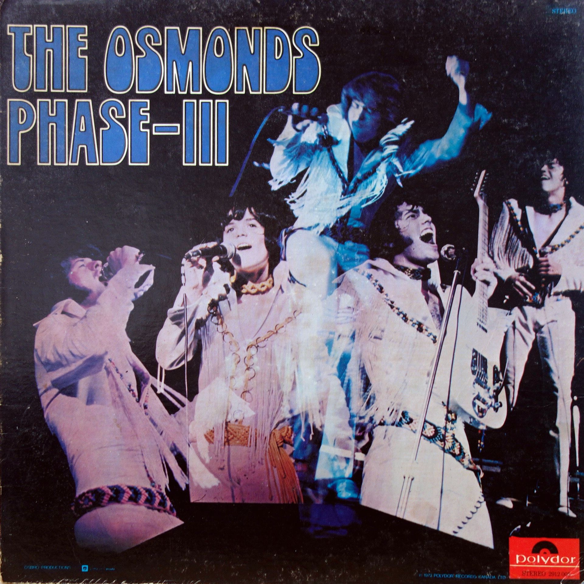 LP The Osmonds ‎– Phase III