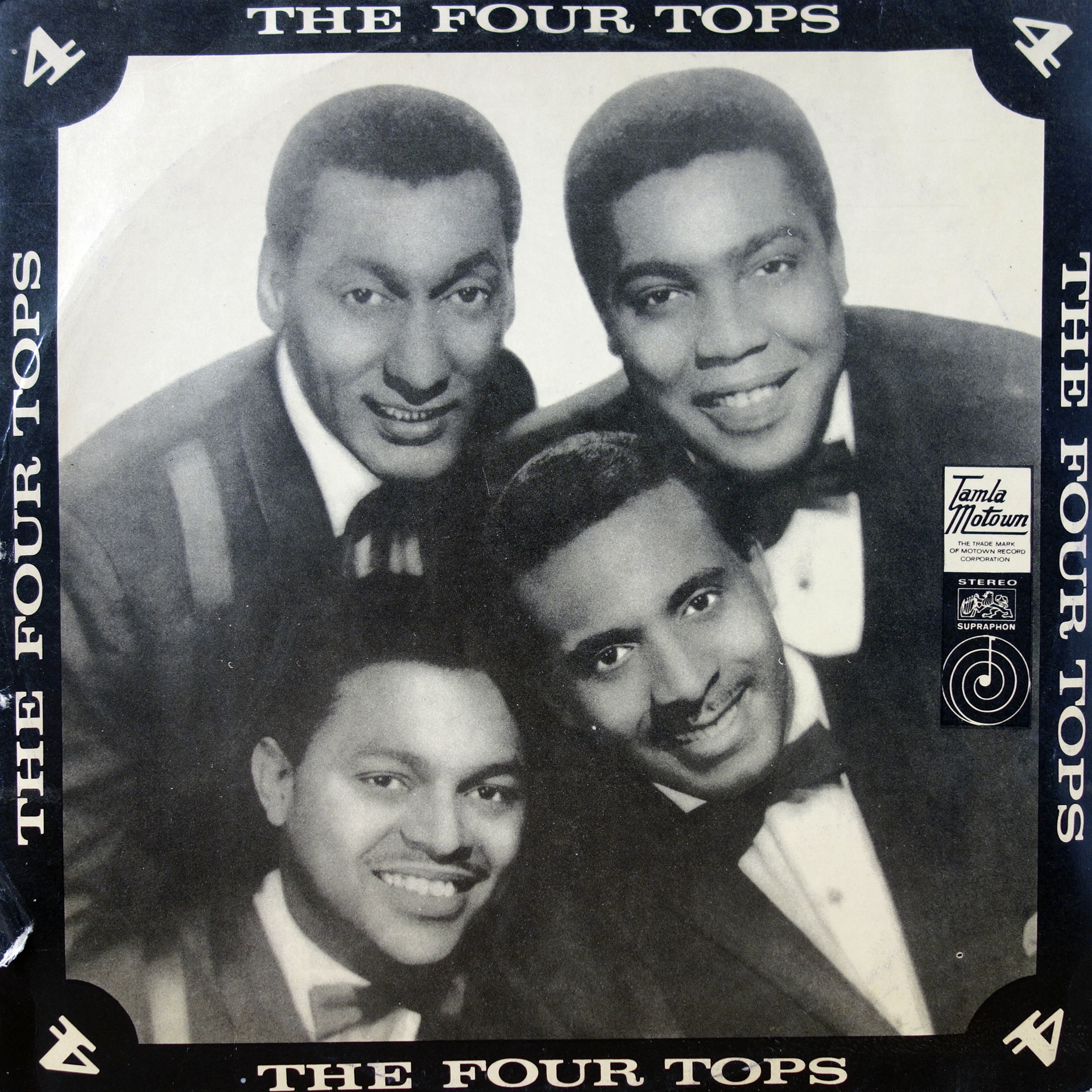 LP The Four Tops ‎– The Four Tops