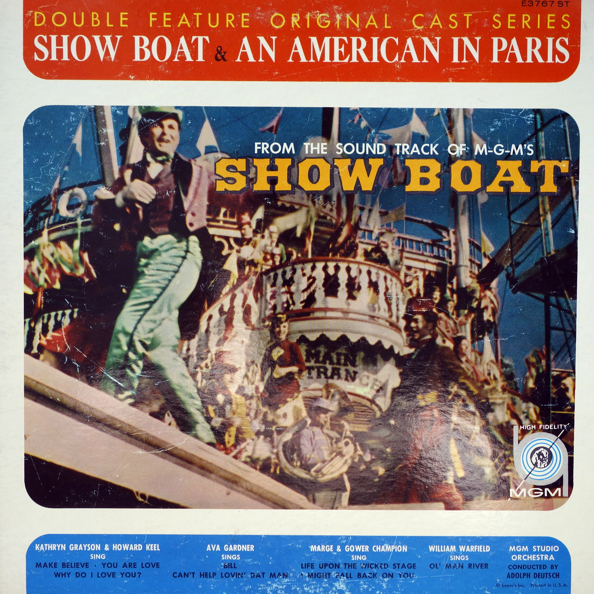 LP Show Boat & An American In Paris (Double Feature Original Cast Series)