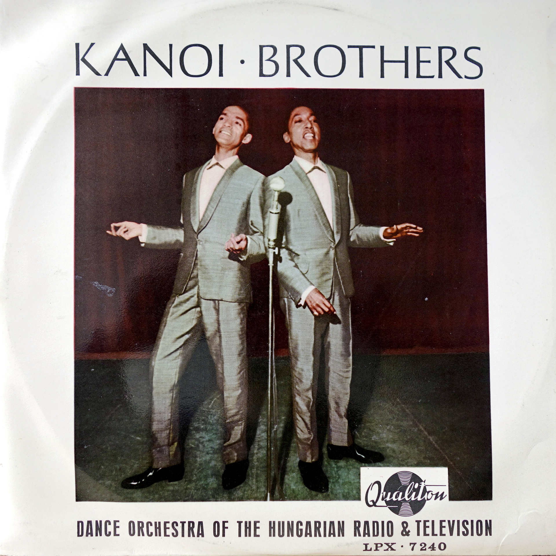 LP Kanoi Brothers, Dance Orchestra Of The Hungarian Radio & Television, Sárosi K