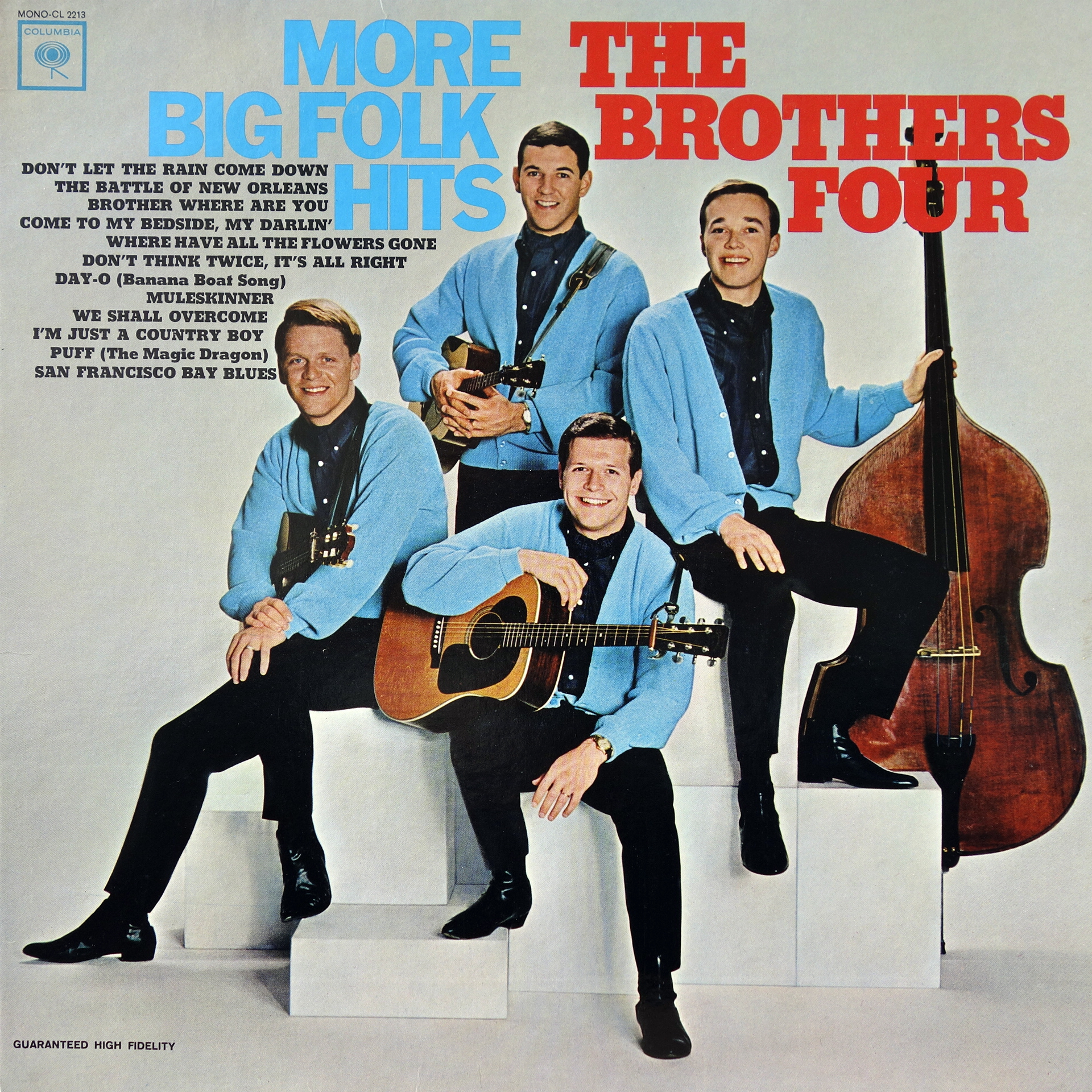 LP The Brothers Four ‎– More Big Folk Hits