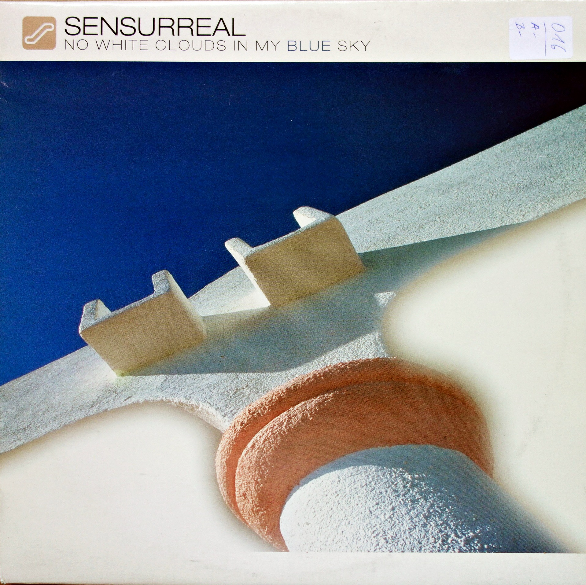 "12"" Sensurreal ‎– No White Clouds In My Blue Sky"