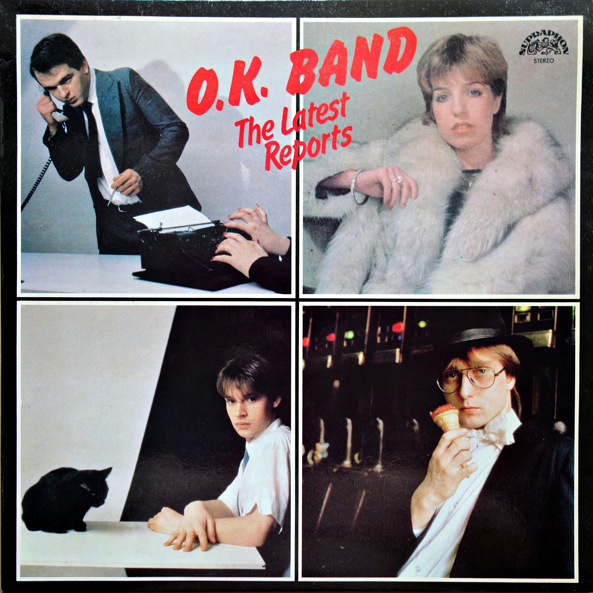 LP O.K. BAND ‎– The Latest Reports