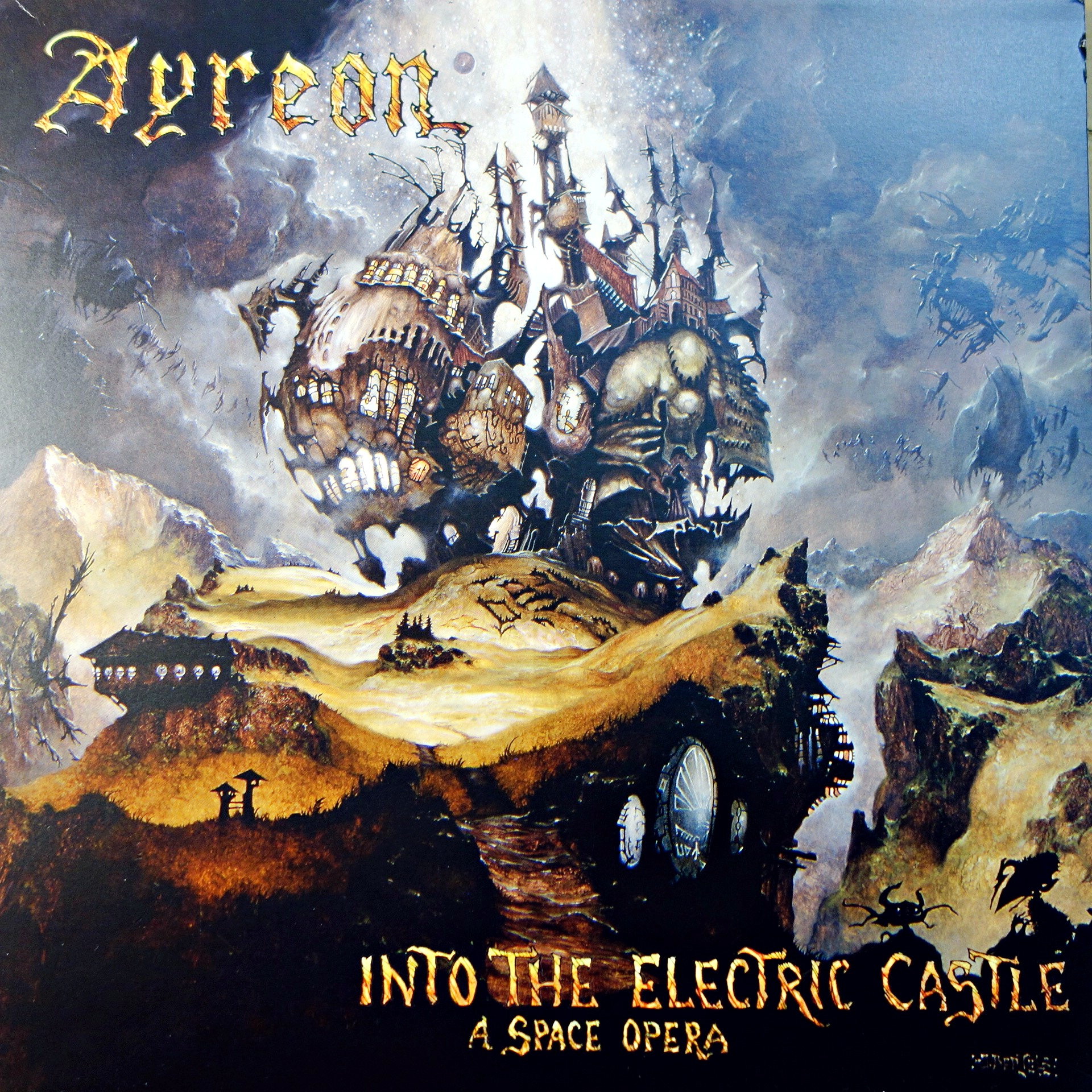 3xLP Ayreon ‎– Into The Electric Castle (A Space Opera)