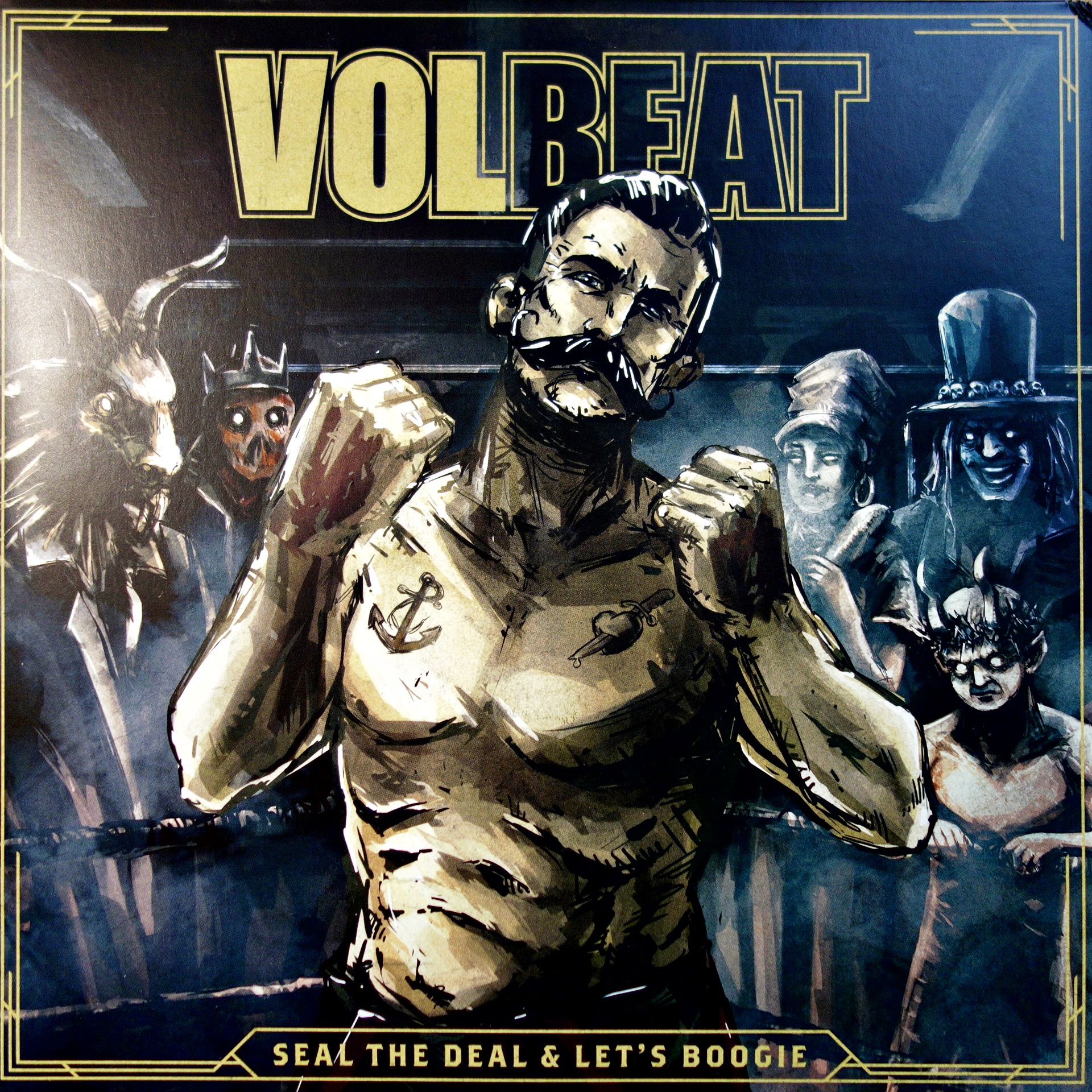 2xLP + CD Volbeat ‎– Seal The Deal & Let's Boogie
