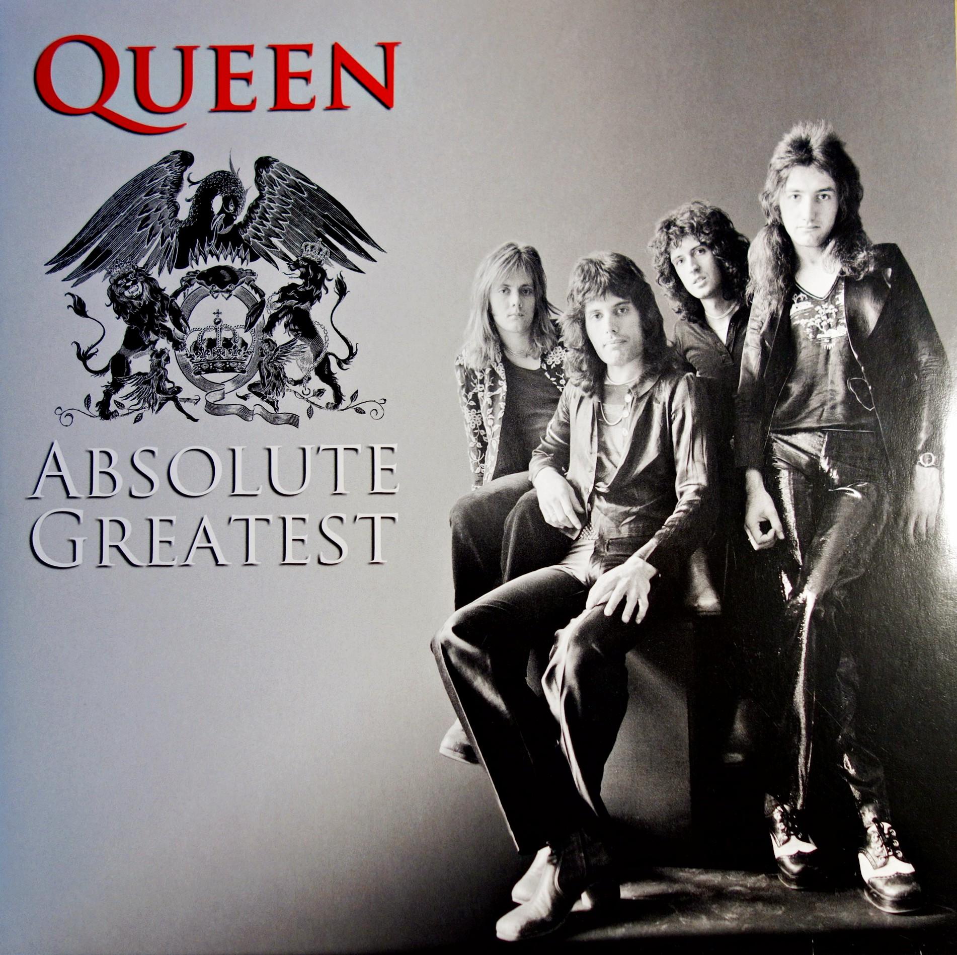 Pop Rock Usa Uk 2xlp Queen Absolute Greatest