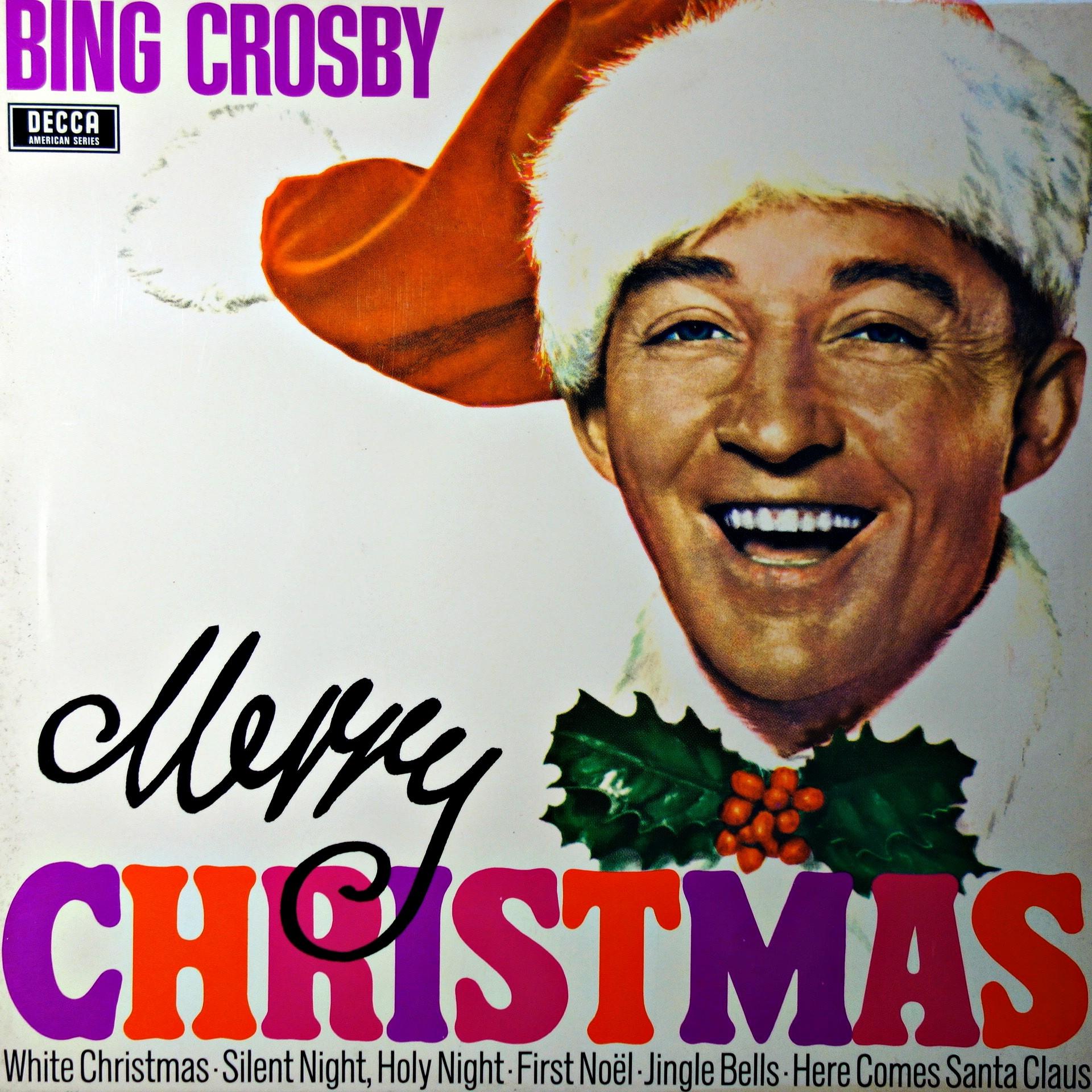 Bing Crosby Merry Christmas.Lp Bing Crosby Merry Christmas