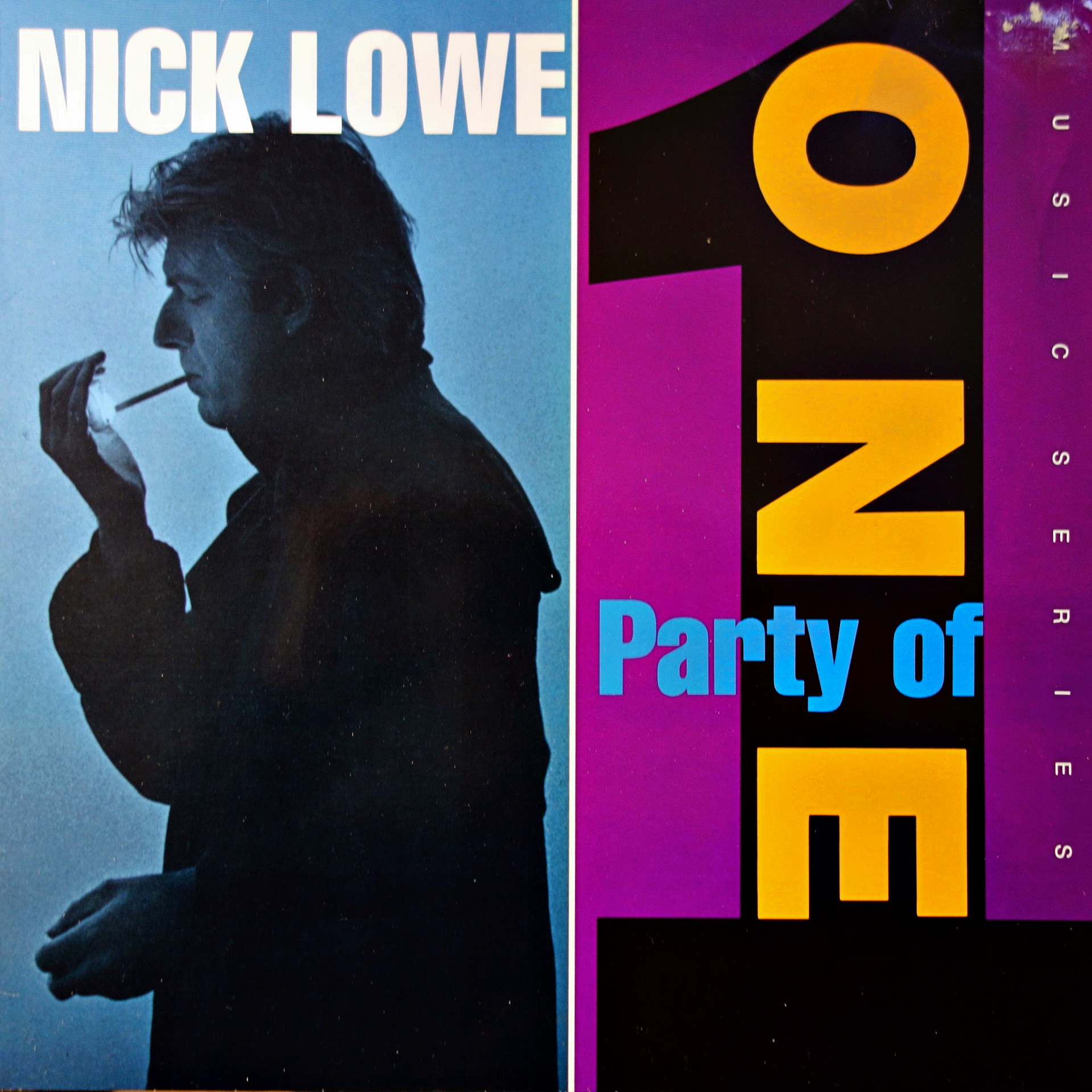 LP Nick Lowe ‎– Party Of One