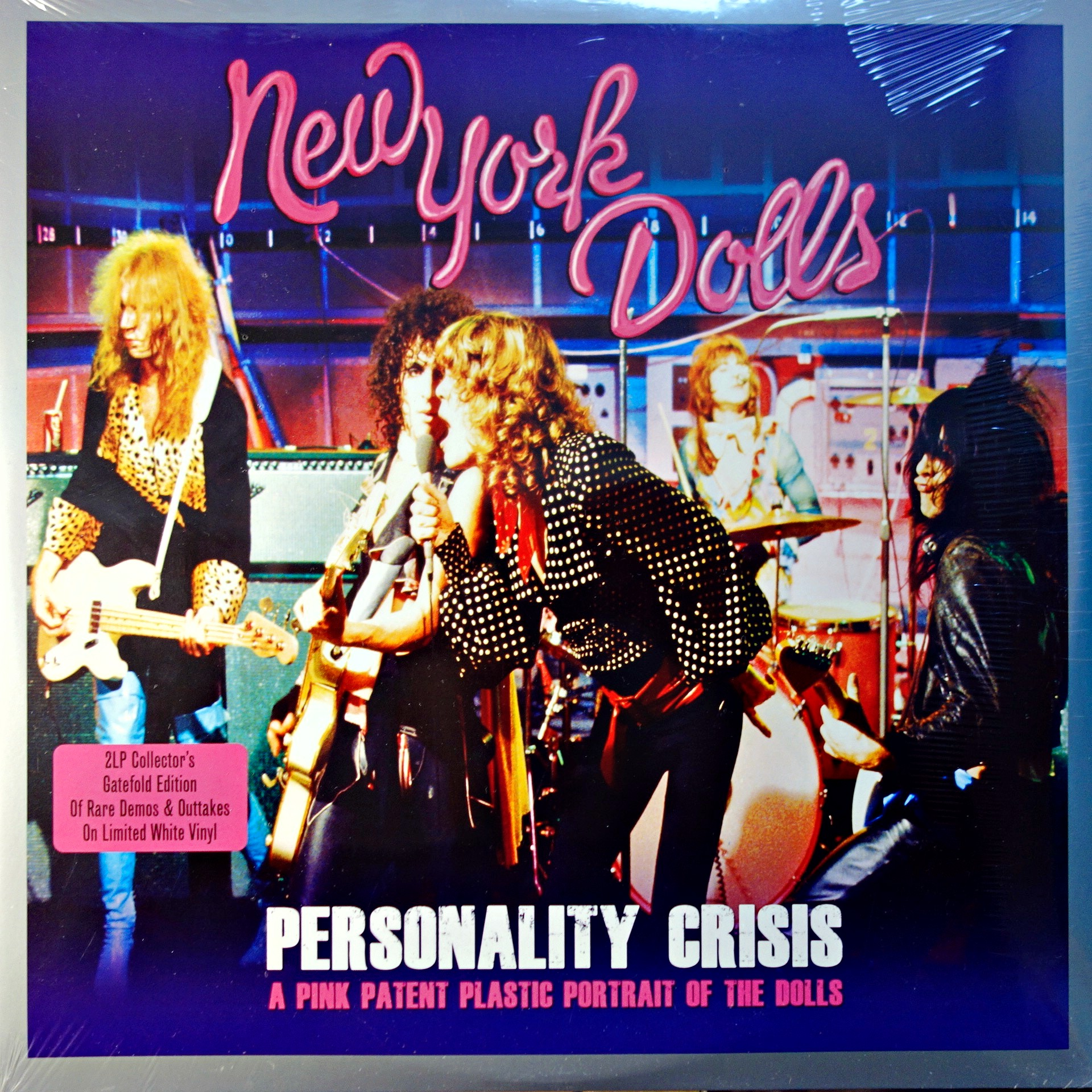 LP New York Dolls ‎– Personality Crisis - A Pink Patent Plastic Portrait Of The