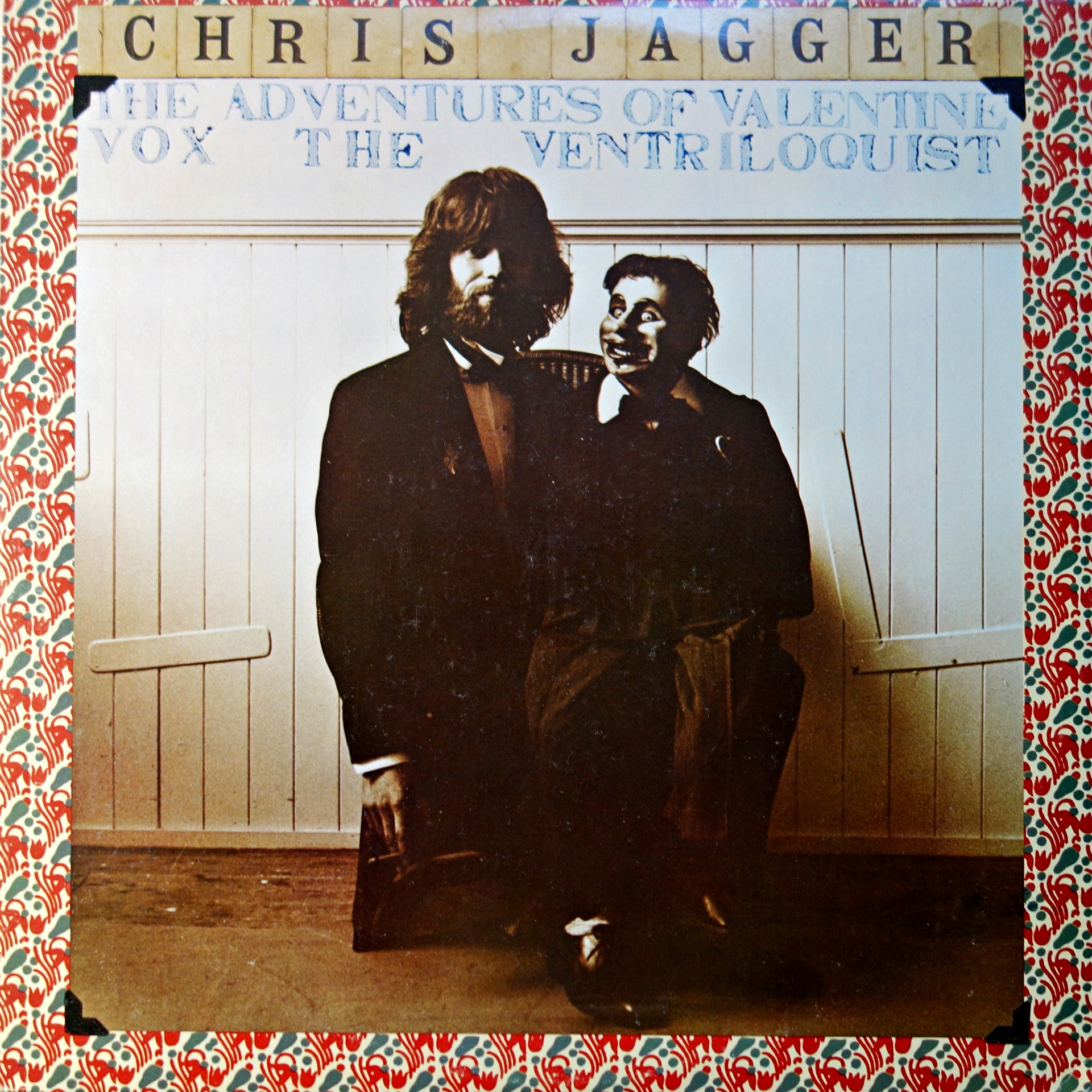 LP Chris Jagger ‎– The Adventures Of Valentine Vox The Ventriloquist
