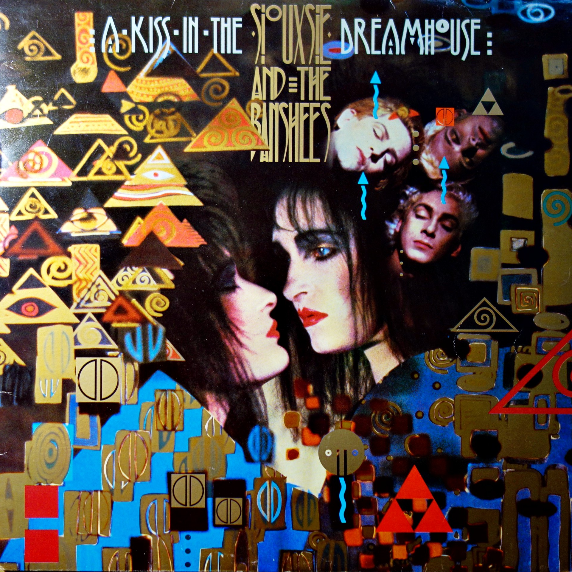 LP Siouxsie And The Banshees ‎– A Kiss In The Dreamhouse