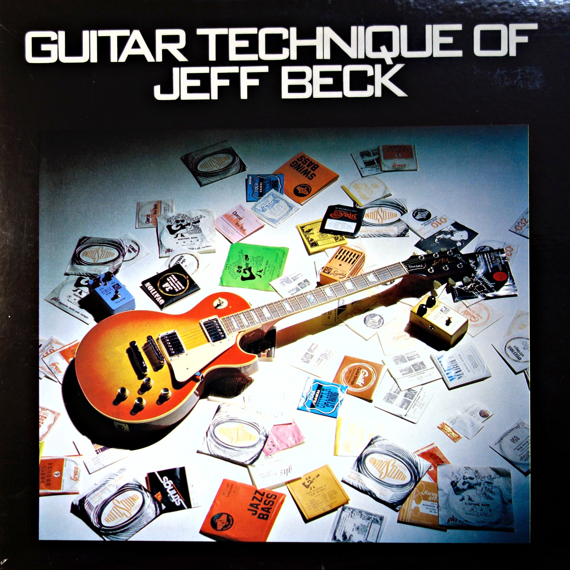 LP Jeff Beck ‎– Guitar Technique Of Jeff Beck