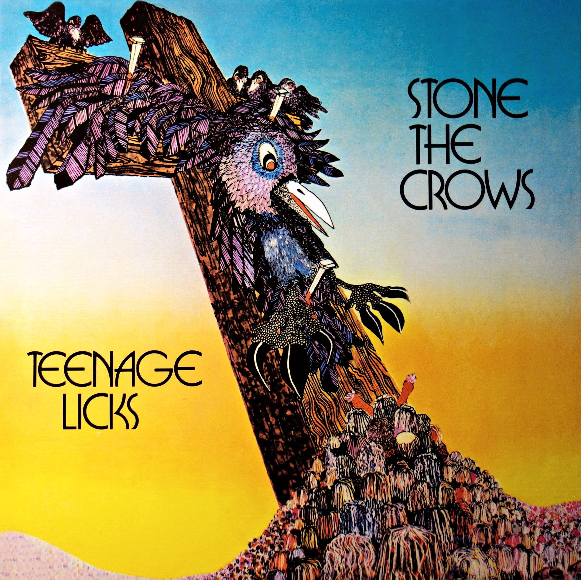 LP Stone The Crows ‎– Teenage Licks