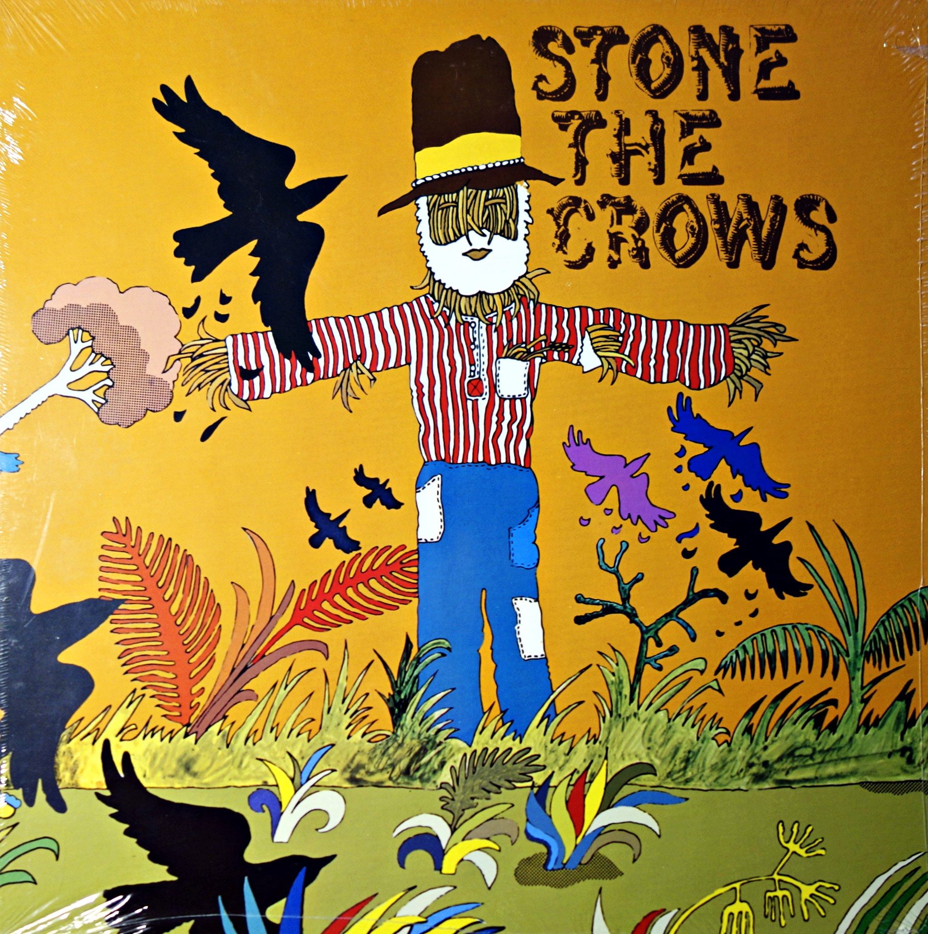 LP Stone The Crows ‎– Stone The Crows