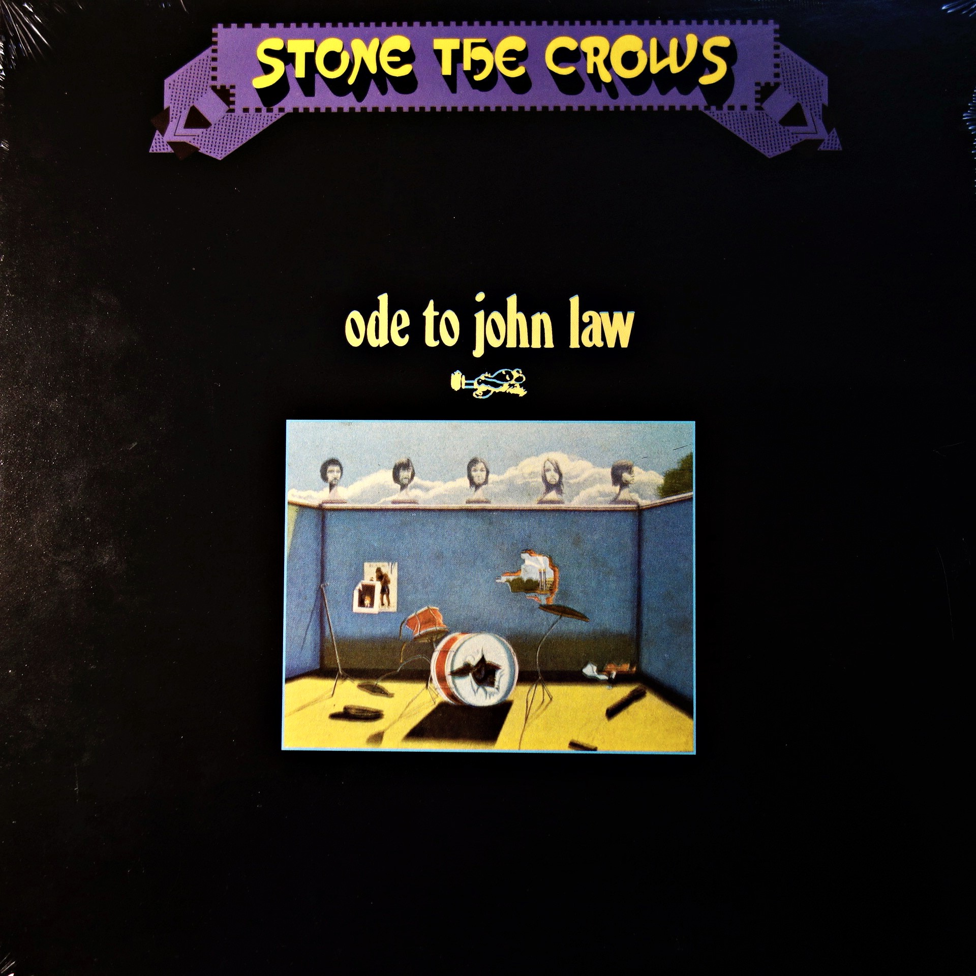 LP Stone The Crows ‎– Ode To John Law