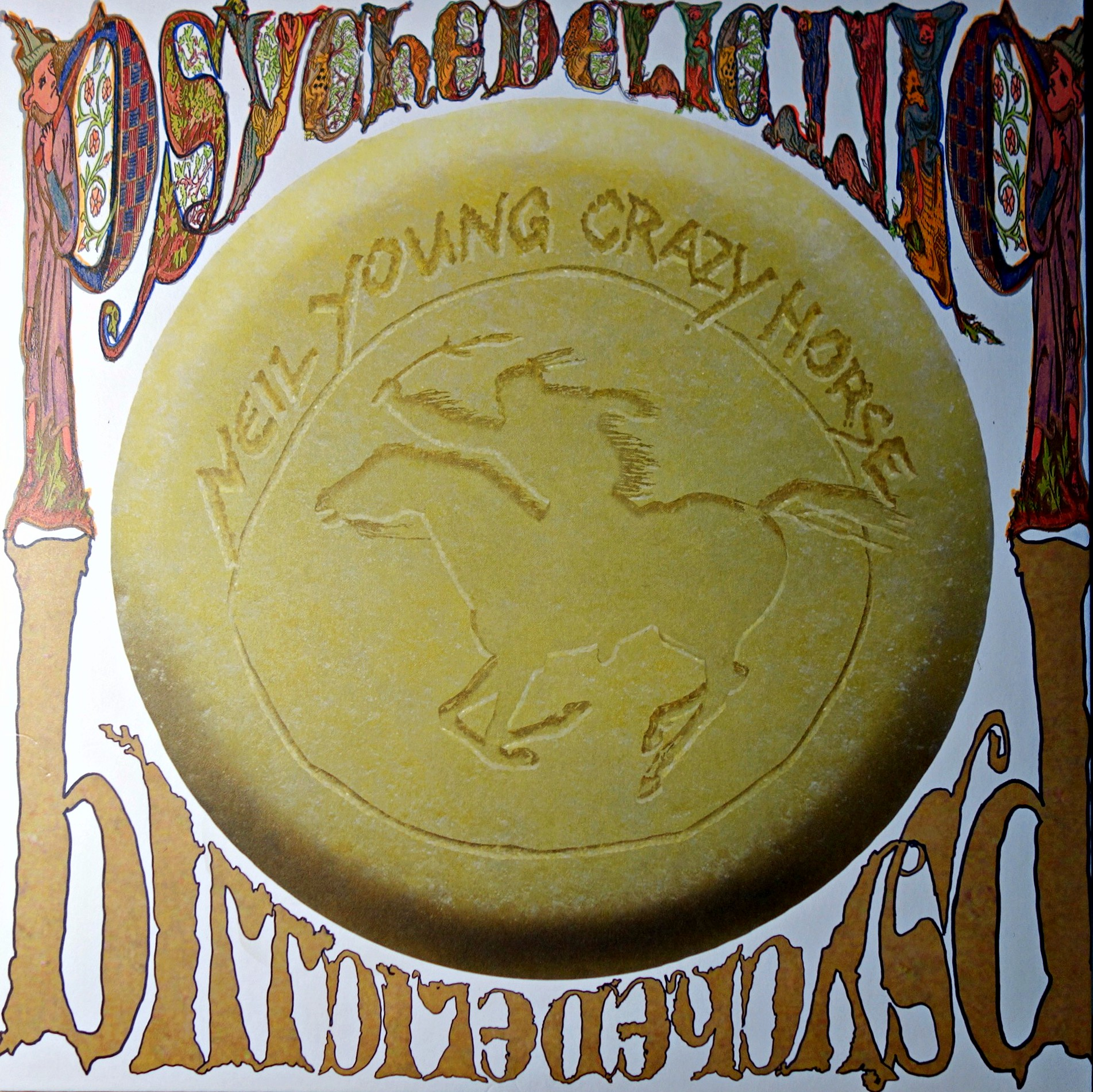 3xLP Neil Young With Crazy Horse ‎– Psychedelic Pill
