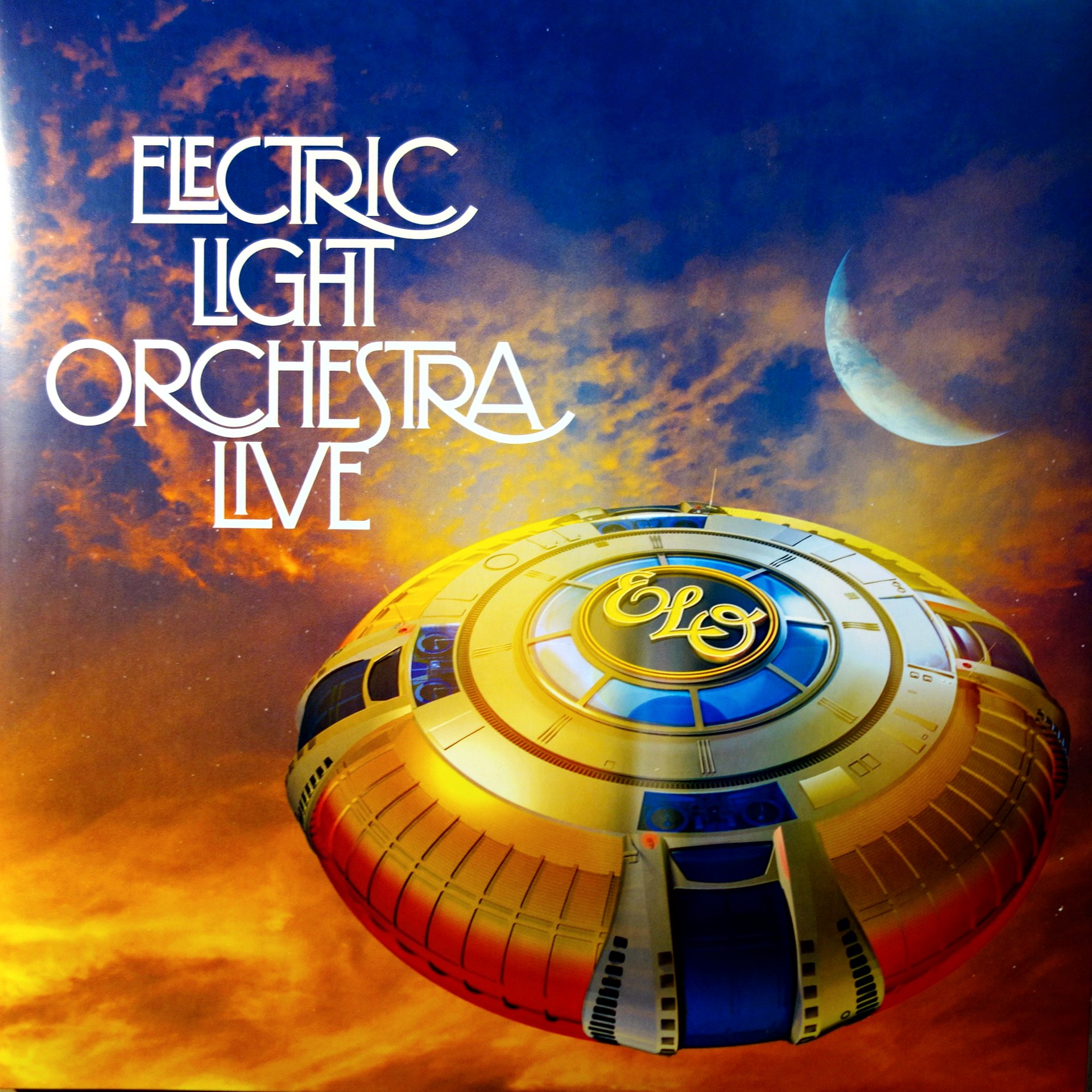 2xLP Electric Light Orchestra ‎– Live