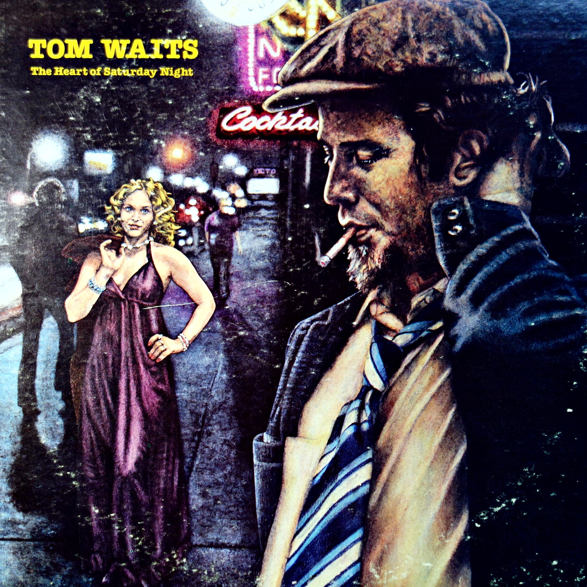 LP Tom Waits ‎– The Heart Of Saturday Night