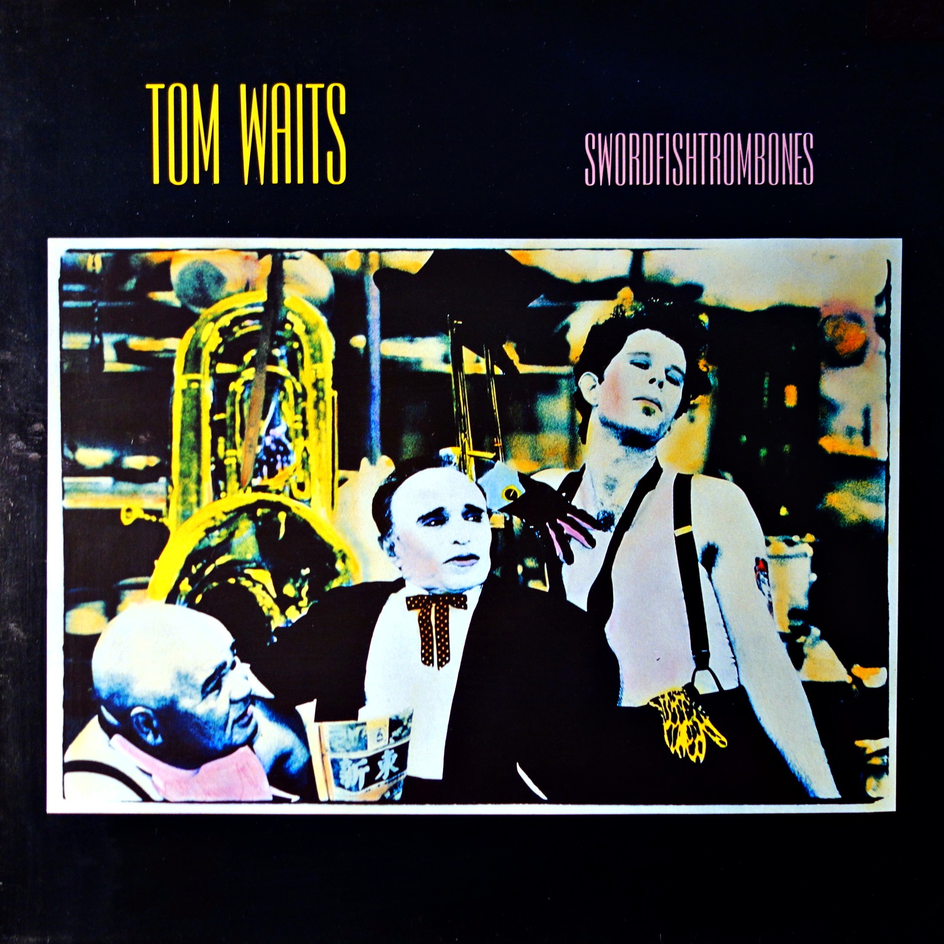 LP Tom Waits ‎– Swordfishtrombones
