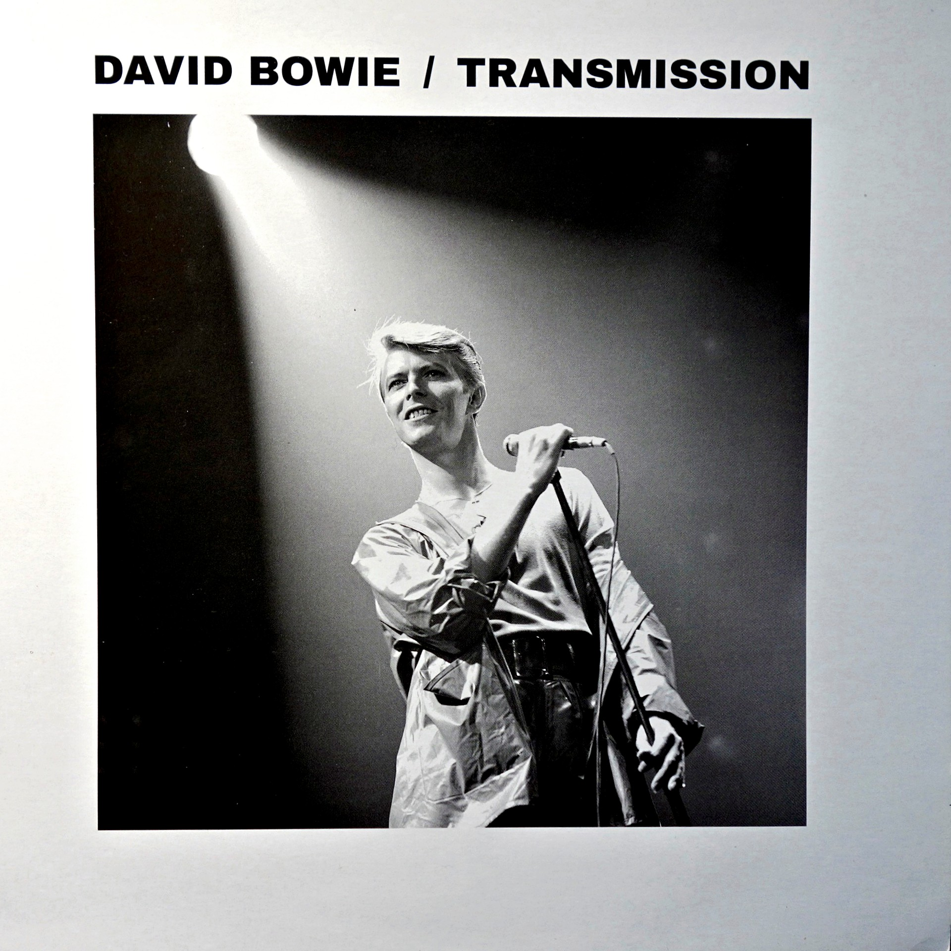 LP David Bowie ‎– Transmission