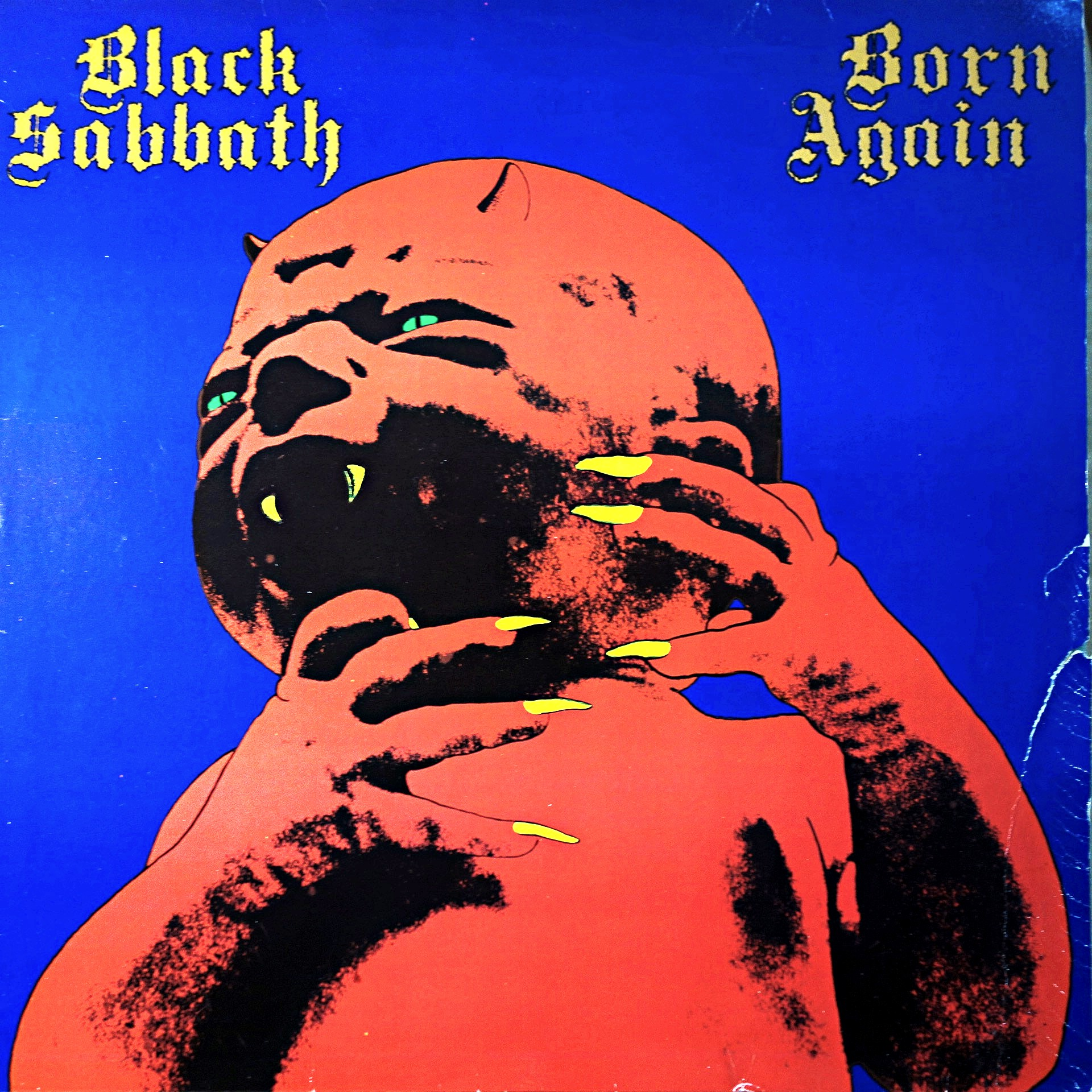 LP Black Sabbath ‎– Born Again