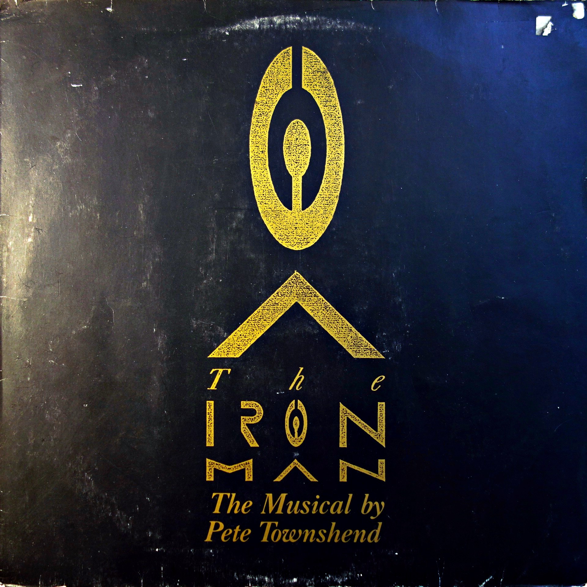 LP Pete Townshend ‎– The Iron Man (The Musical By Pete Townshend)