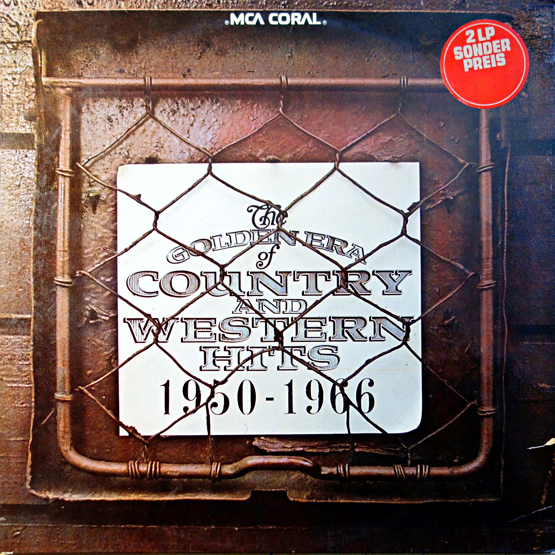 2xLP Various ‎– The Golden Era Of Country And Western Hits 1950 - 1966